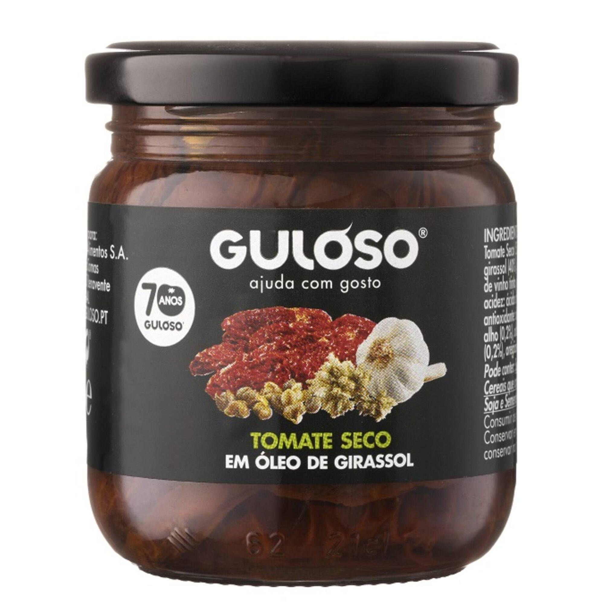 Tomate Seco em Óleo de Girassol