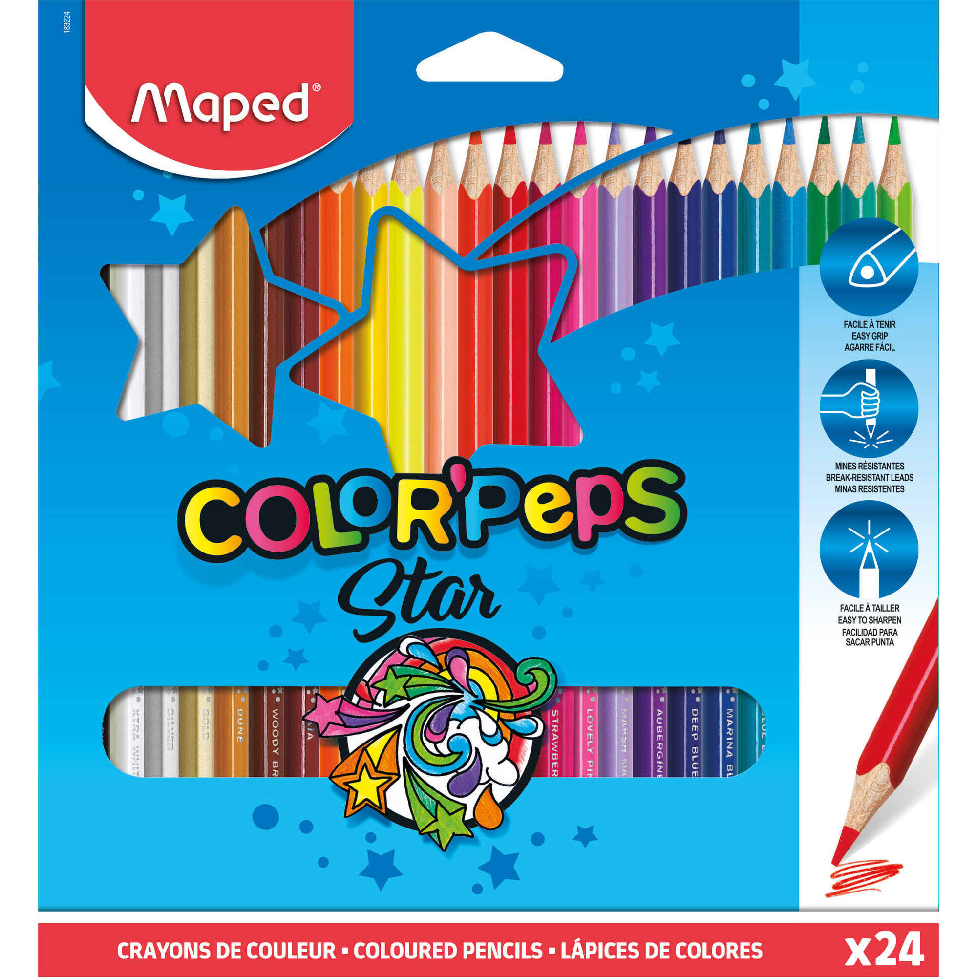Lápis de Cor Color'Peps
