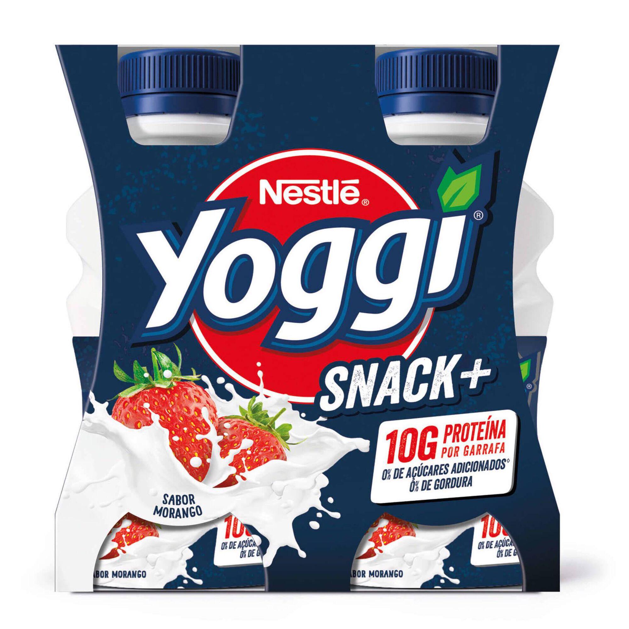 Iogurte Líquido Snack + Morango