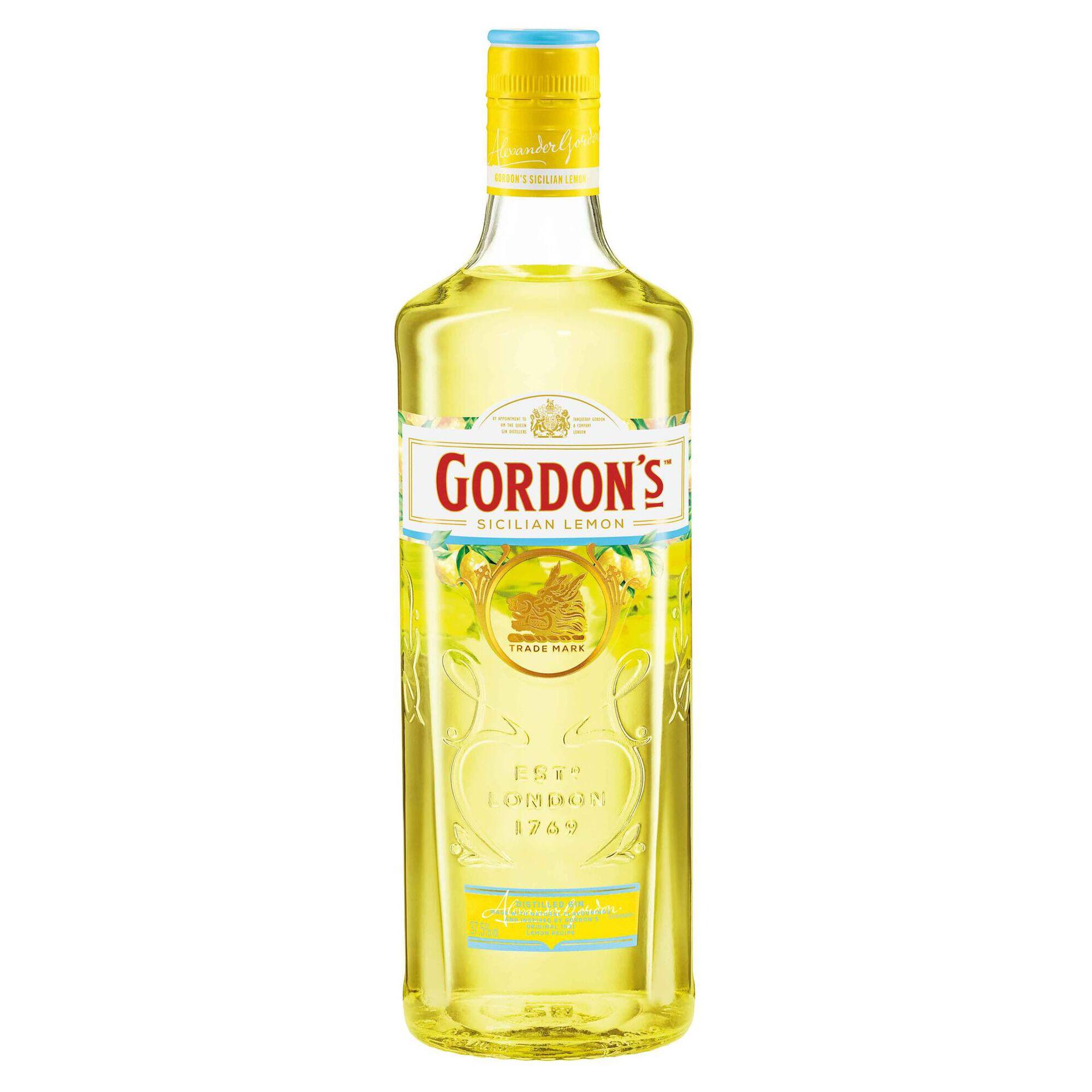 Gin Gordon's Sicilian Lemon