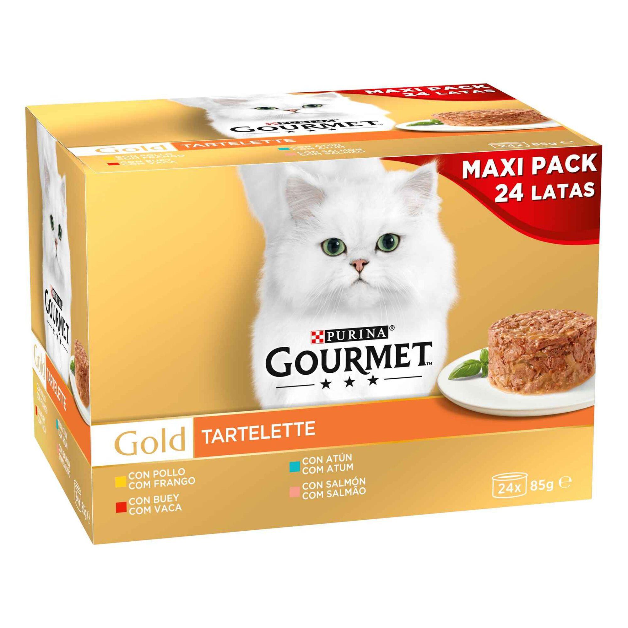 Comida Húmida para Gato Adulto Tartelette Lata