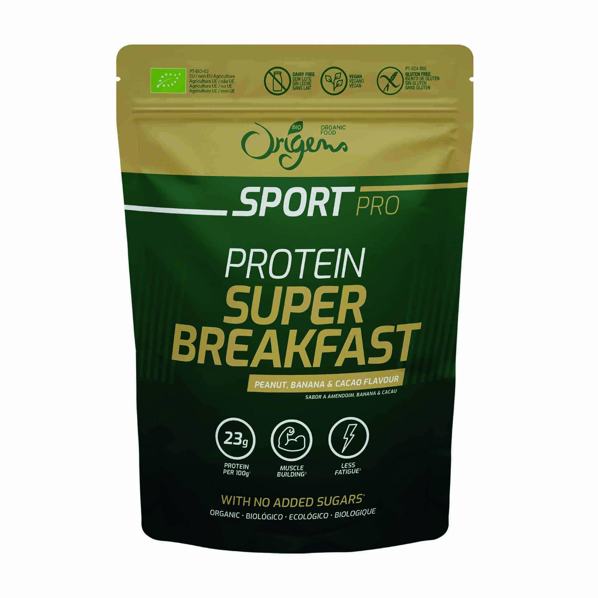 Super Pequeno Almoço Proteico Sport sem Glúten Biológico