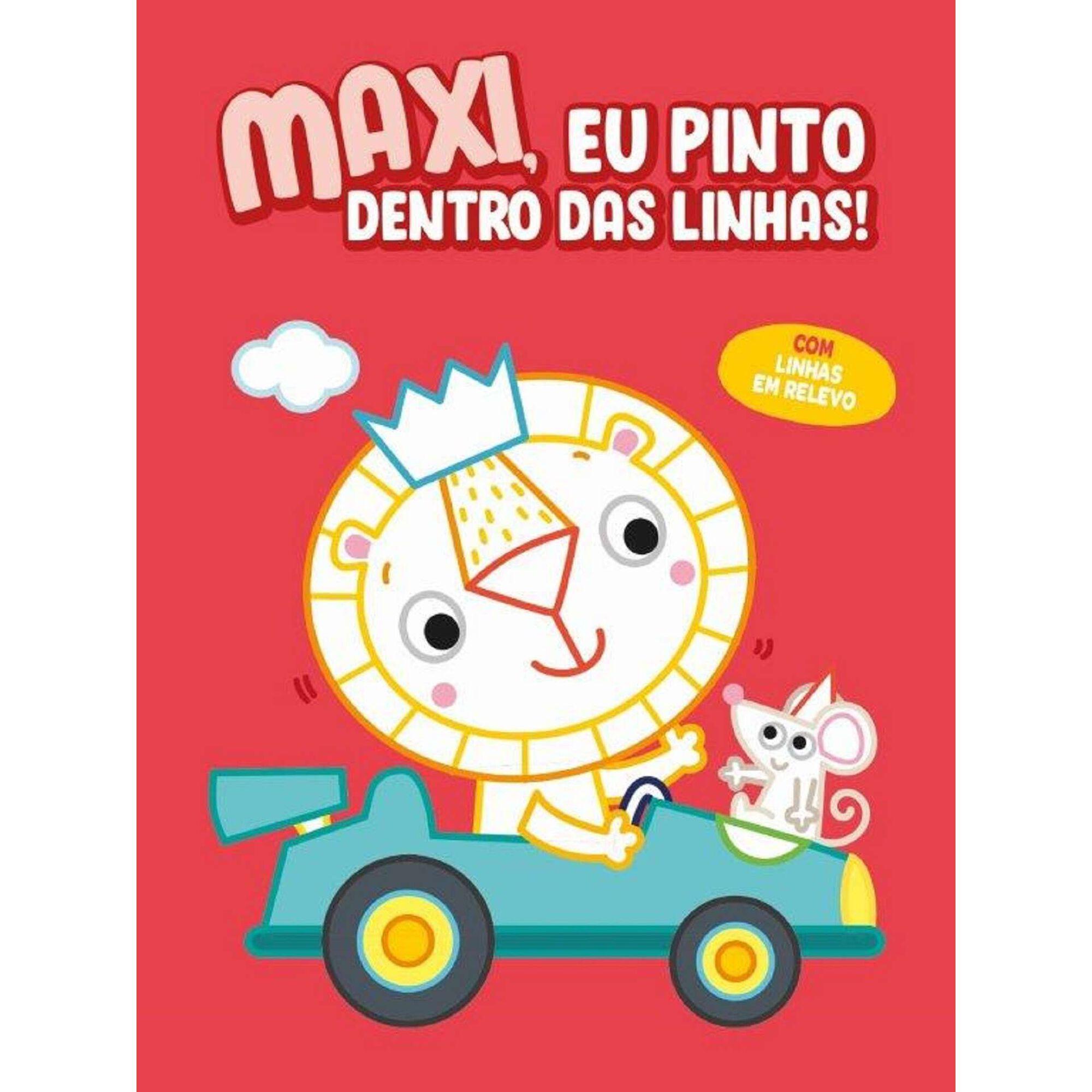 Maxi, Eu Pinto Dentro Das Linhas - Vermelho