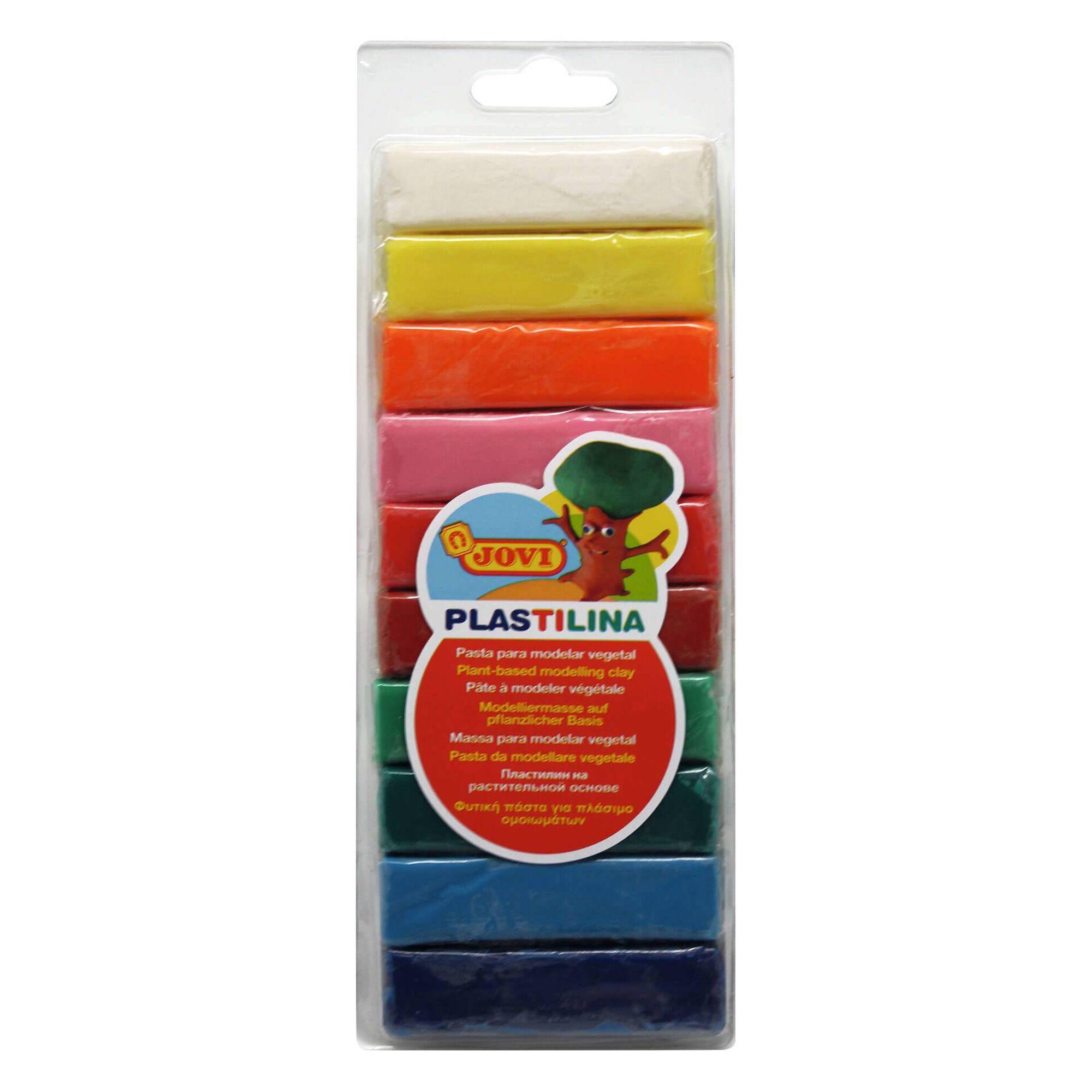 Plasticina Fluor com 10 barras