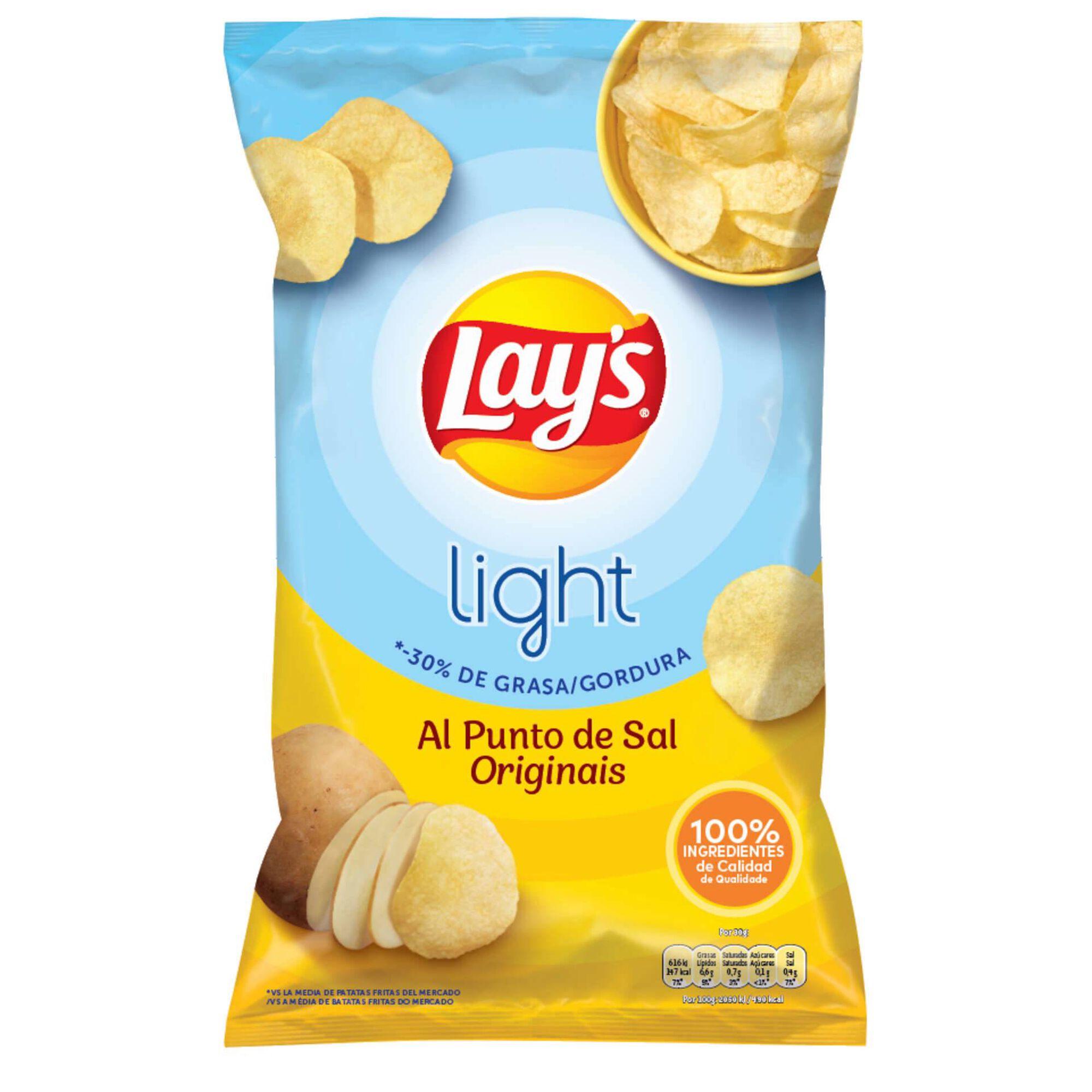 Batata Frita Lisa Light Original