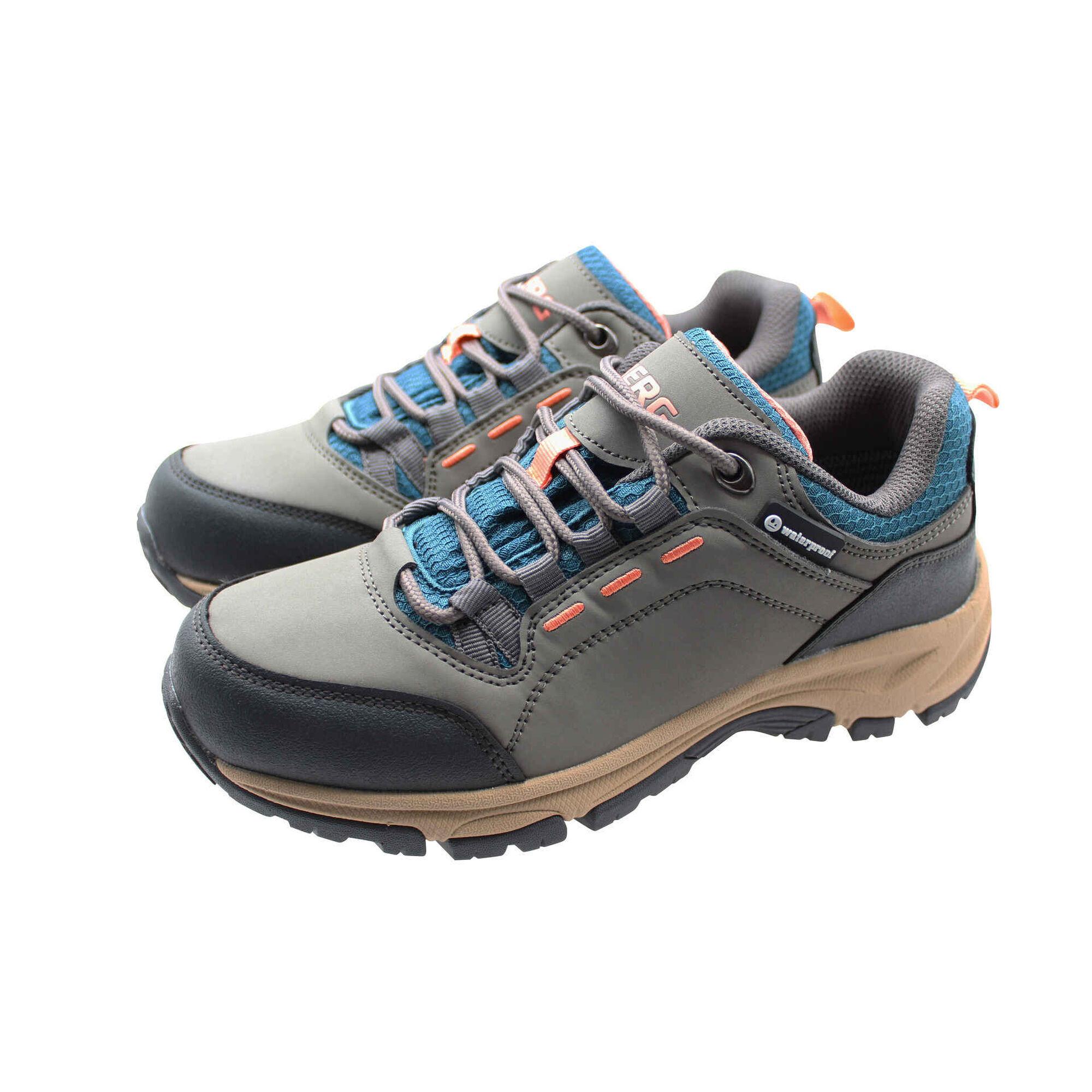 Sapatos Caminhada Impermeáveis Cinza Grudy