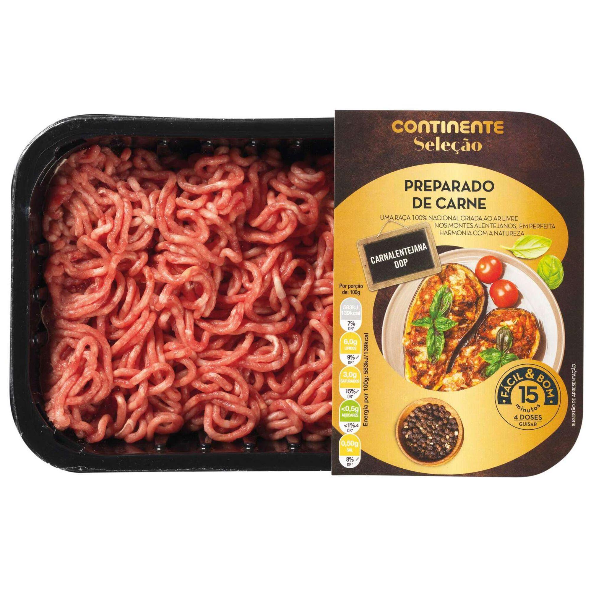 Carne Picada de Bovino Carne Alentejana