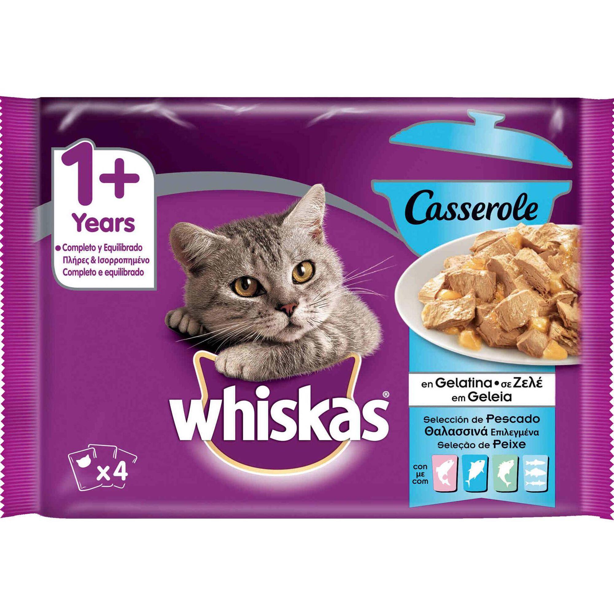 Comida Húmida para Gato Adulto Peixe Saquetas
