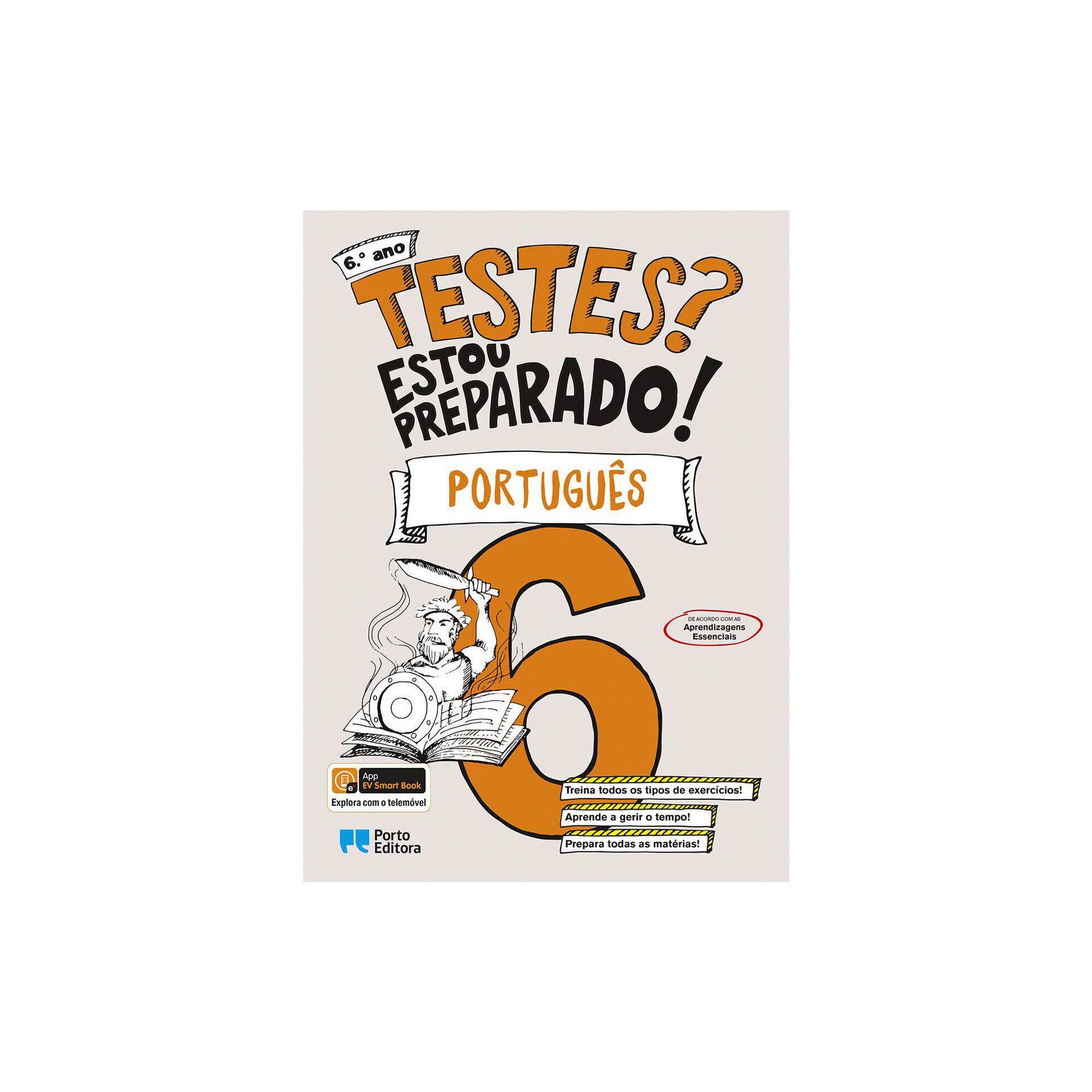 Testes? Estou Preparado! - Português - 6º Ano
