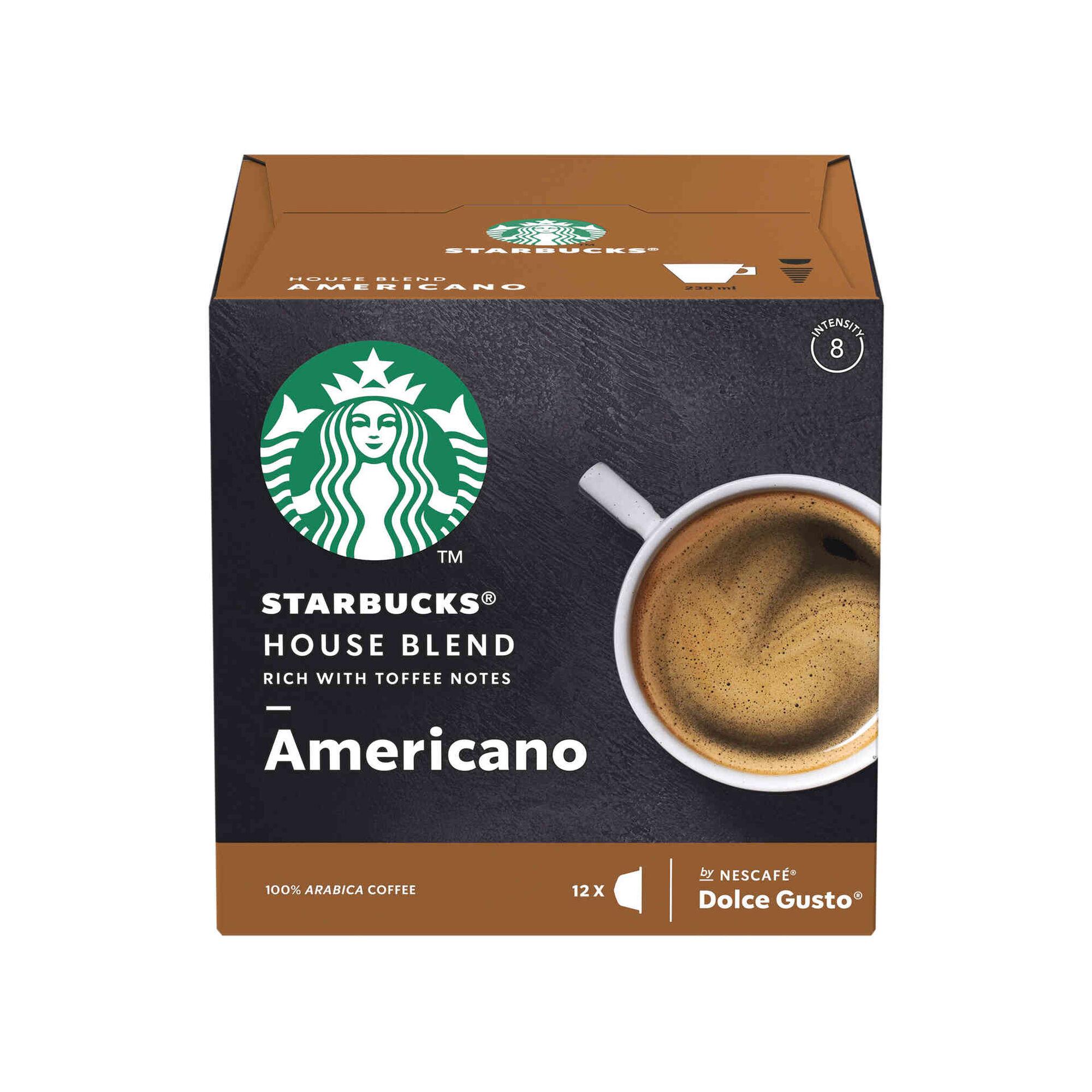 Cápsulas de Café House Blend Americano Compatível com Dolce Gusto Int 8