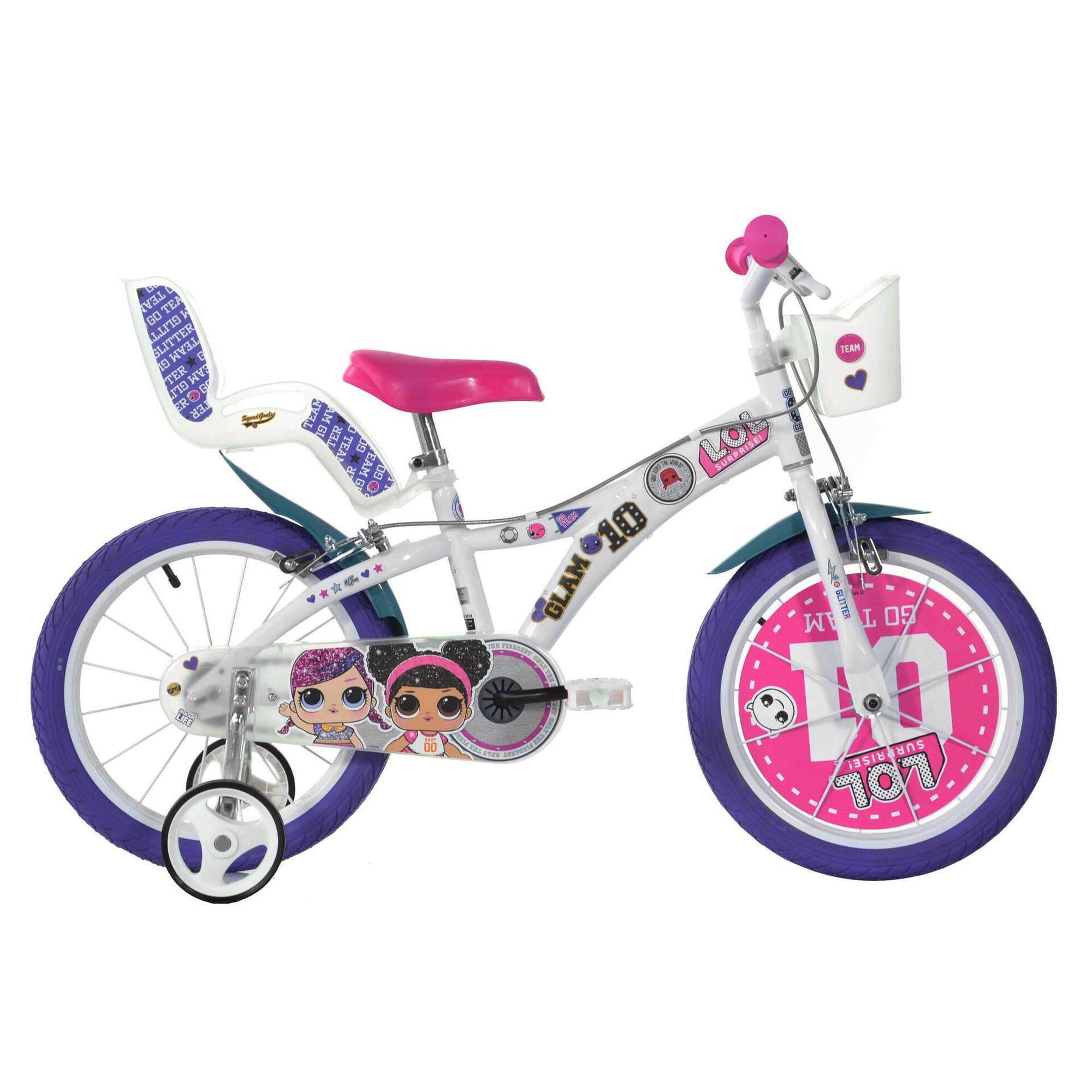 Bicicleta Criança Roda 14'' 4-6 Anos