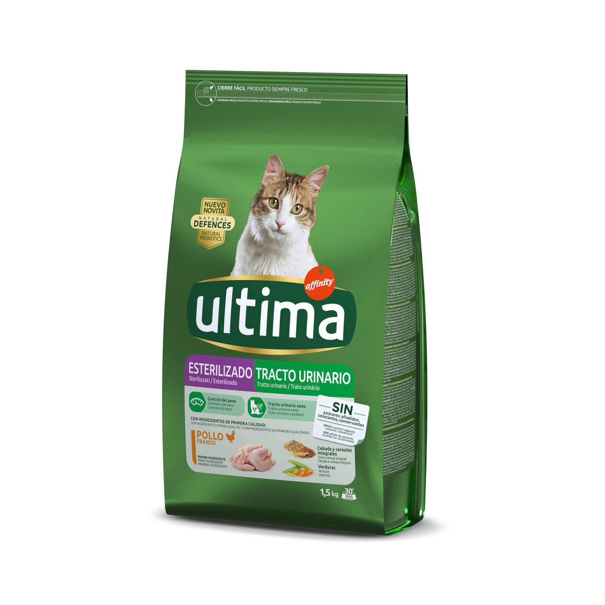 Ração para Gato Ultra Esterilizado Trato Urinário