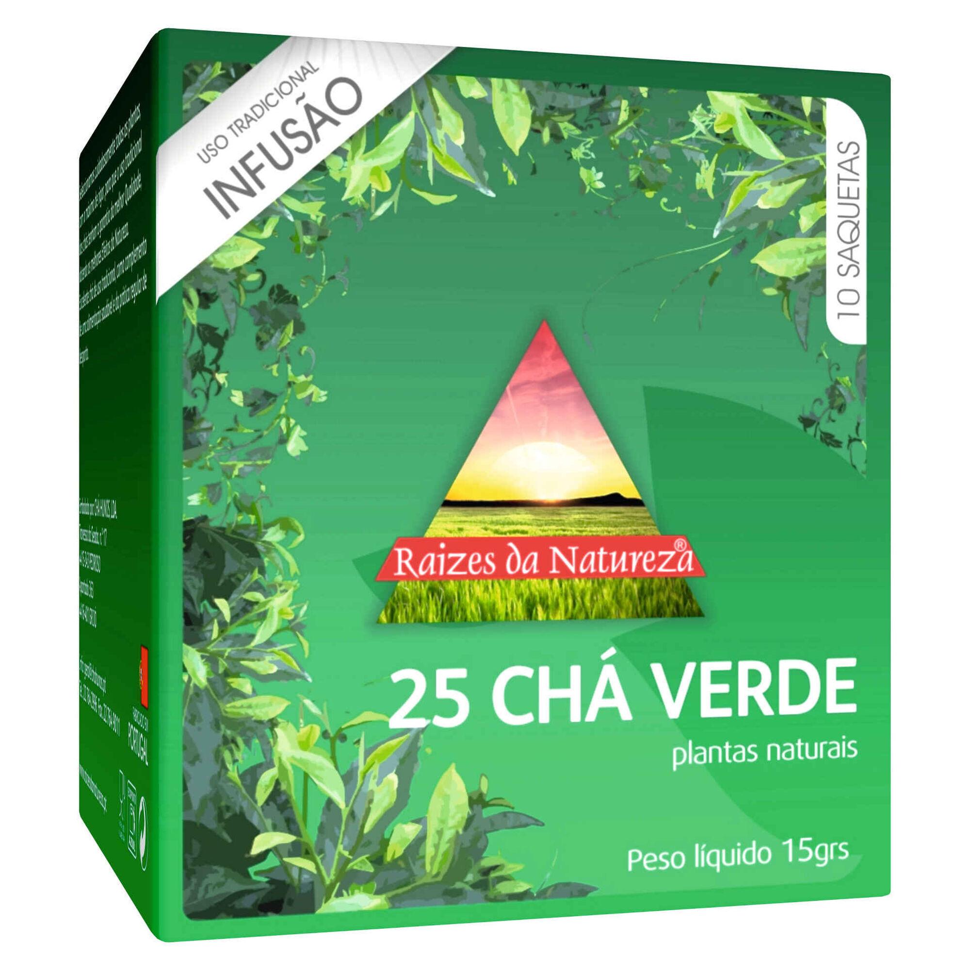 Infusão Chá Verde Nº25 Saquetas