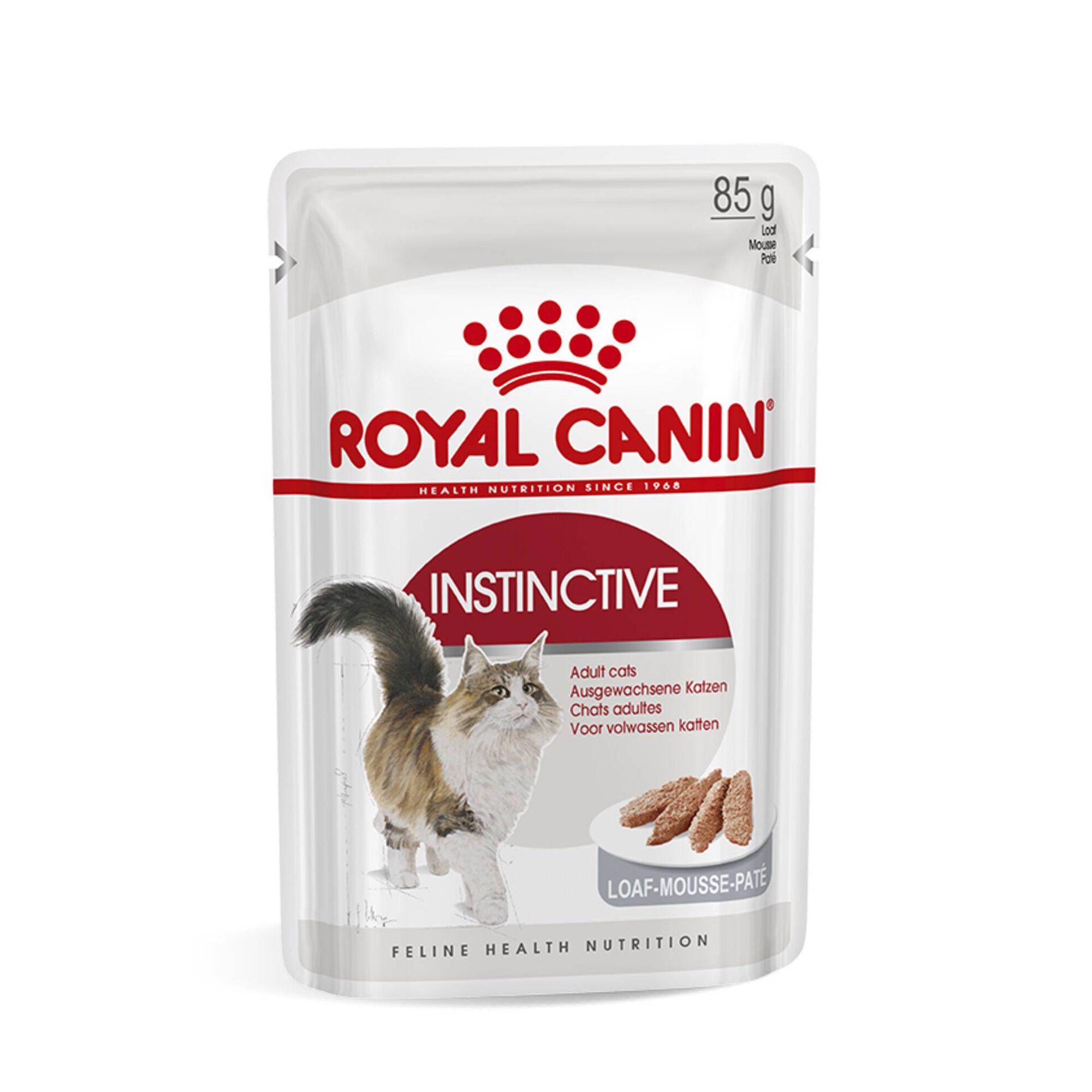 Comida Húmida para Gato Adulto Instinctive Saquetas