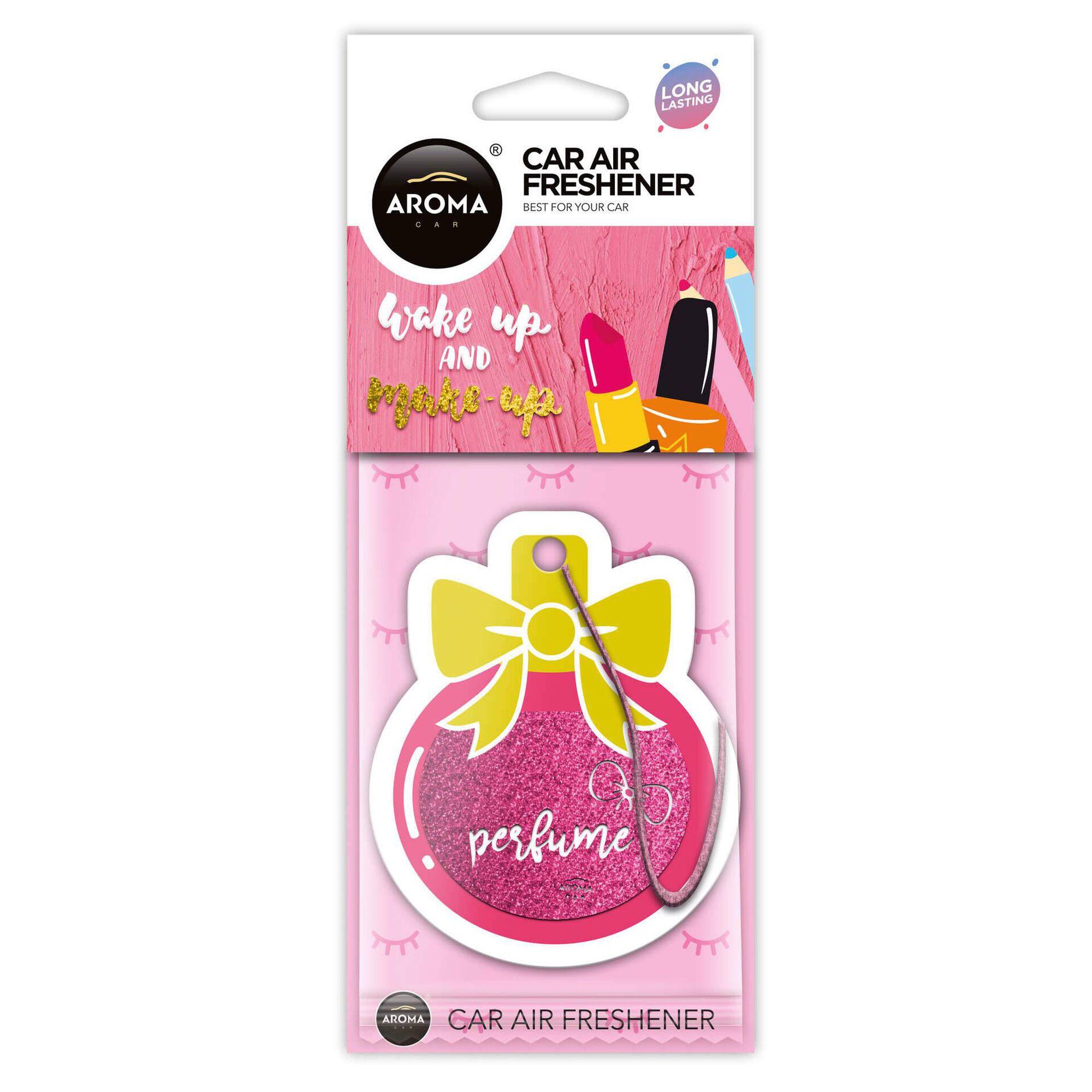 Ambientador Auto Pendurar Cartão Perfume