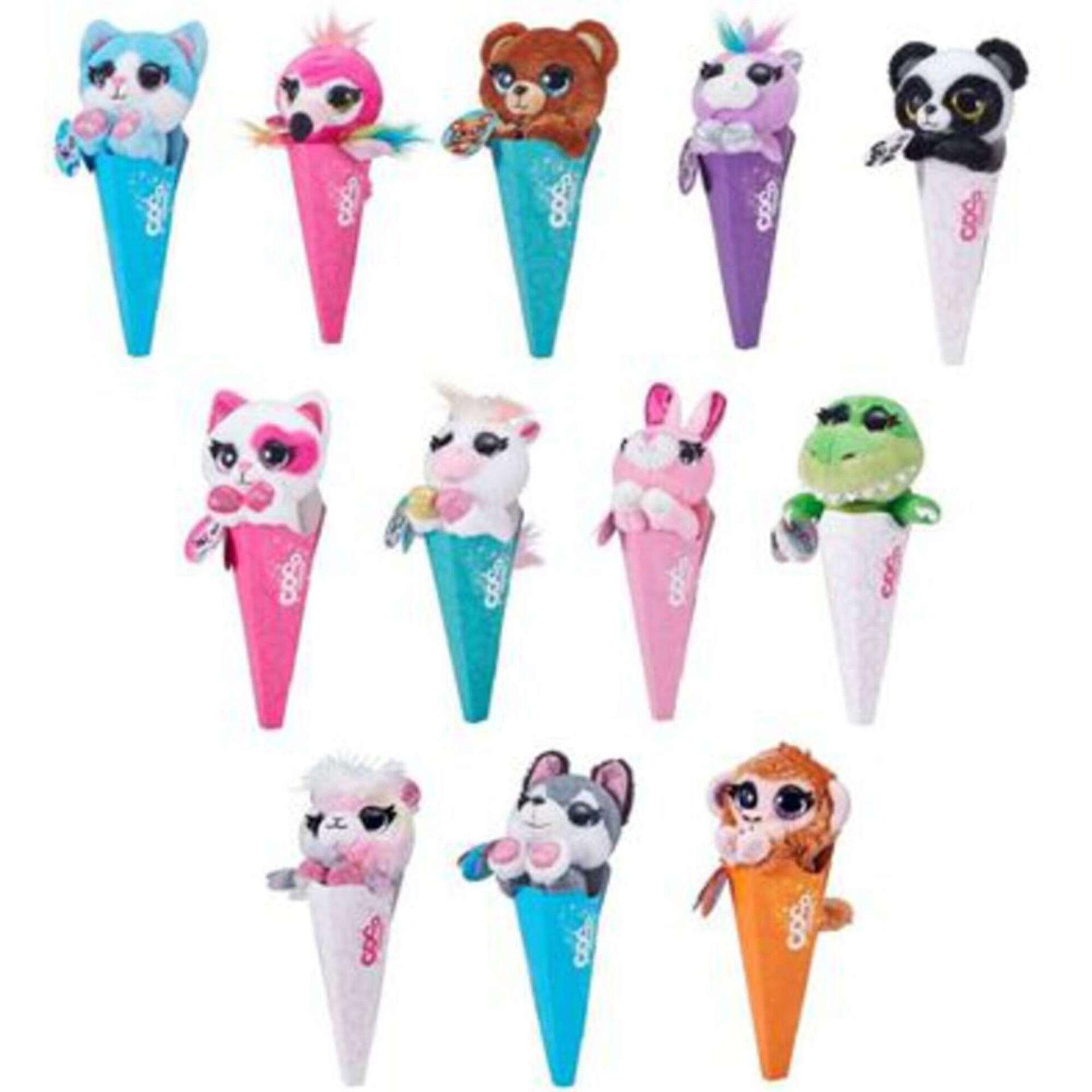 Peluche Coco Surprise Cones (vários modelos)