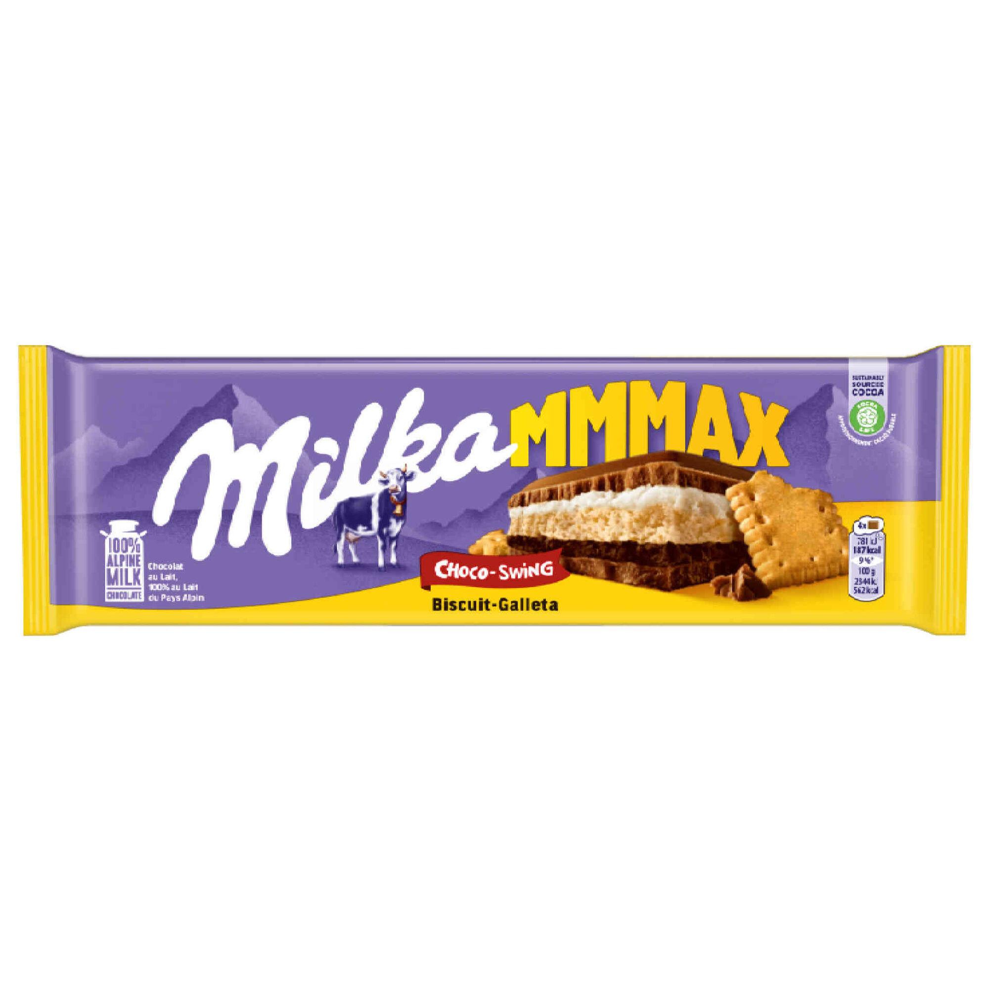 Tablete de Chocolate de Leite com Bolacha