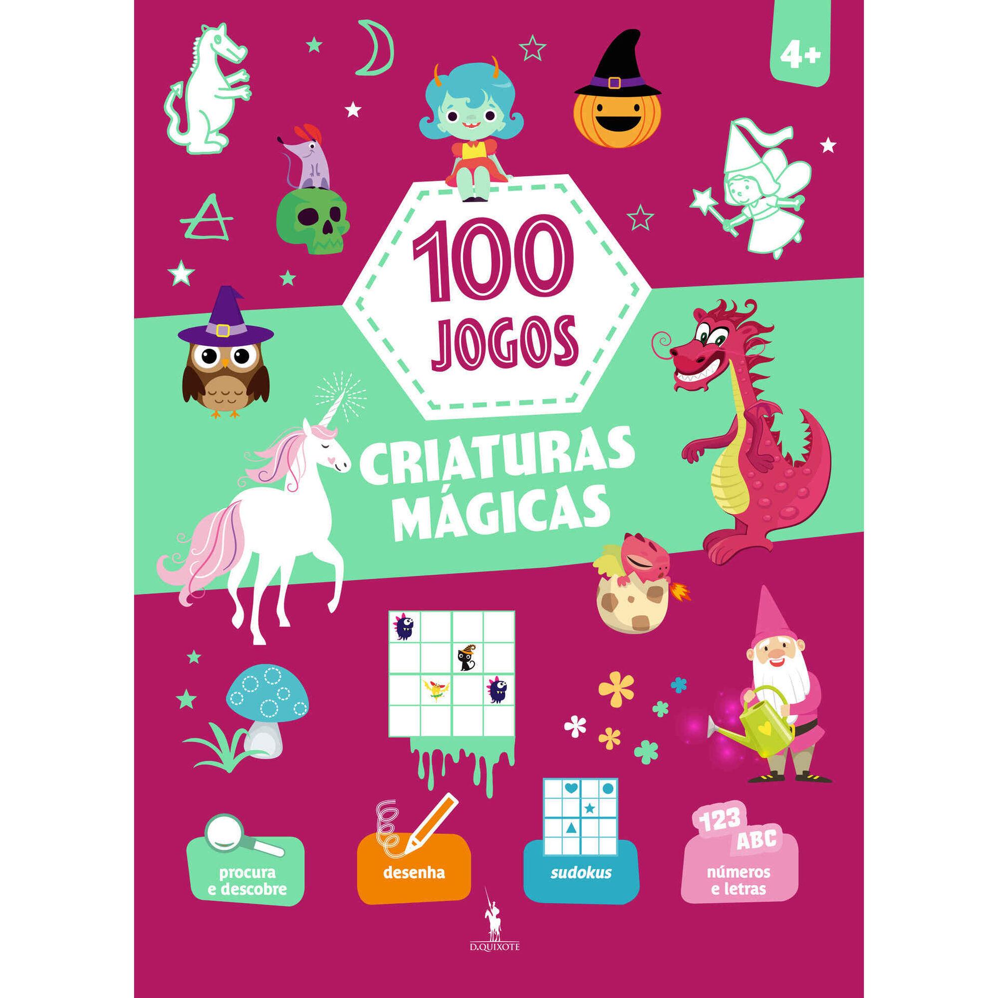 100 Jogos - Criaturas Mágicas