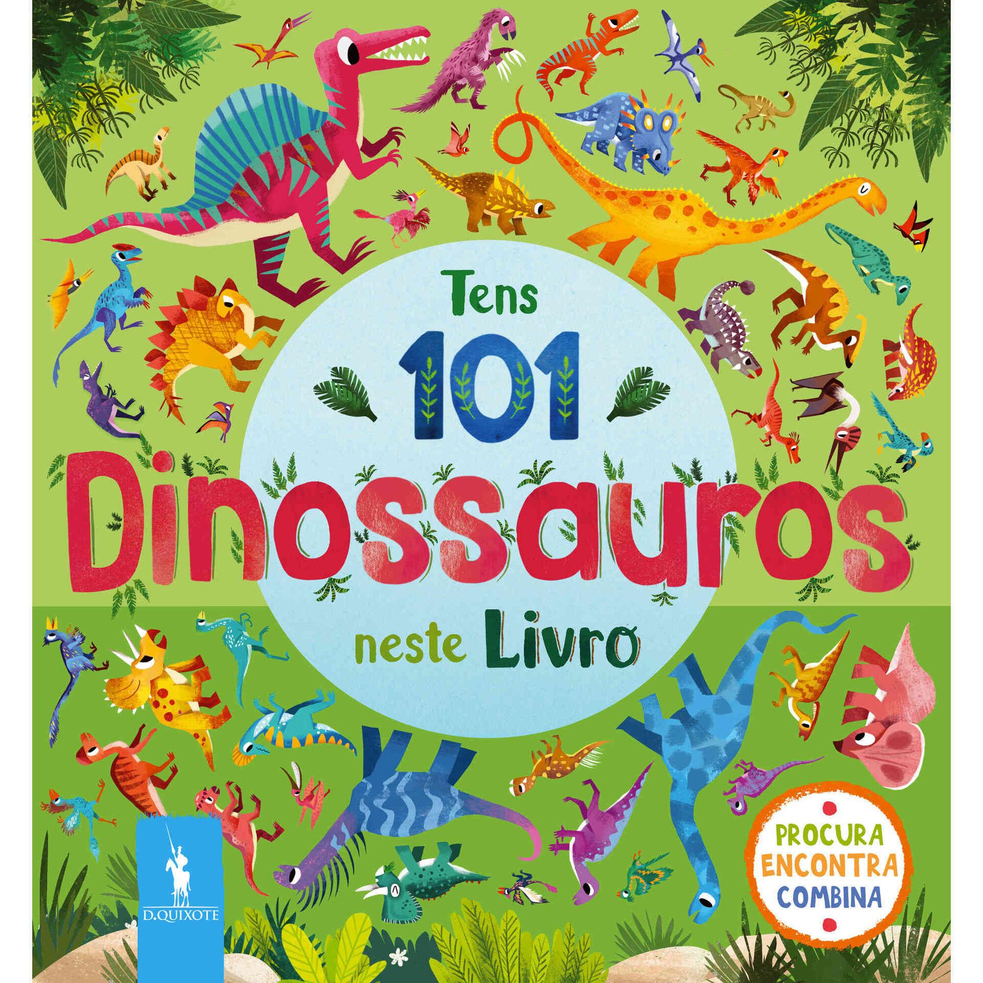 Tens 101 Dinossauros Neste Livro
