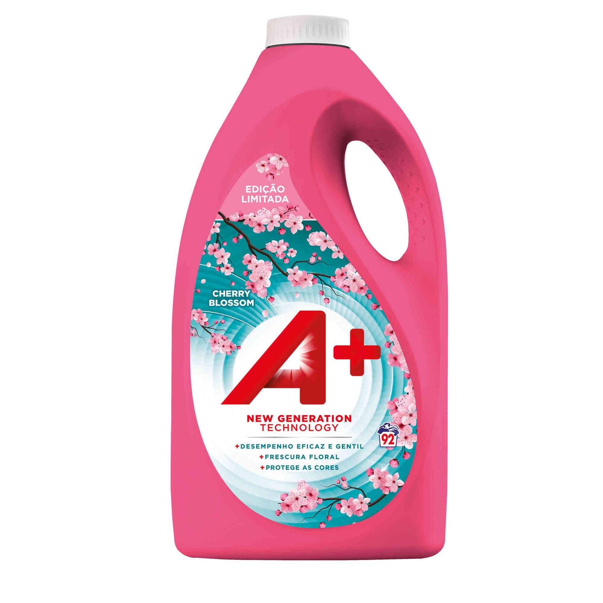 Detergente Máquina Roupa Líquido Cherry Blossom