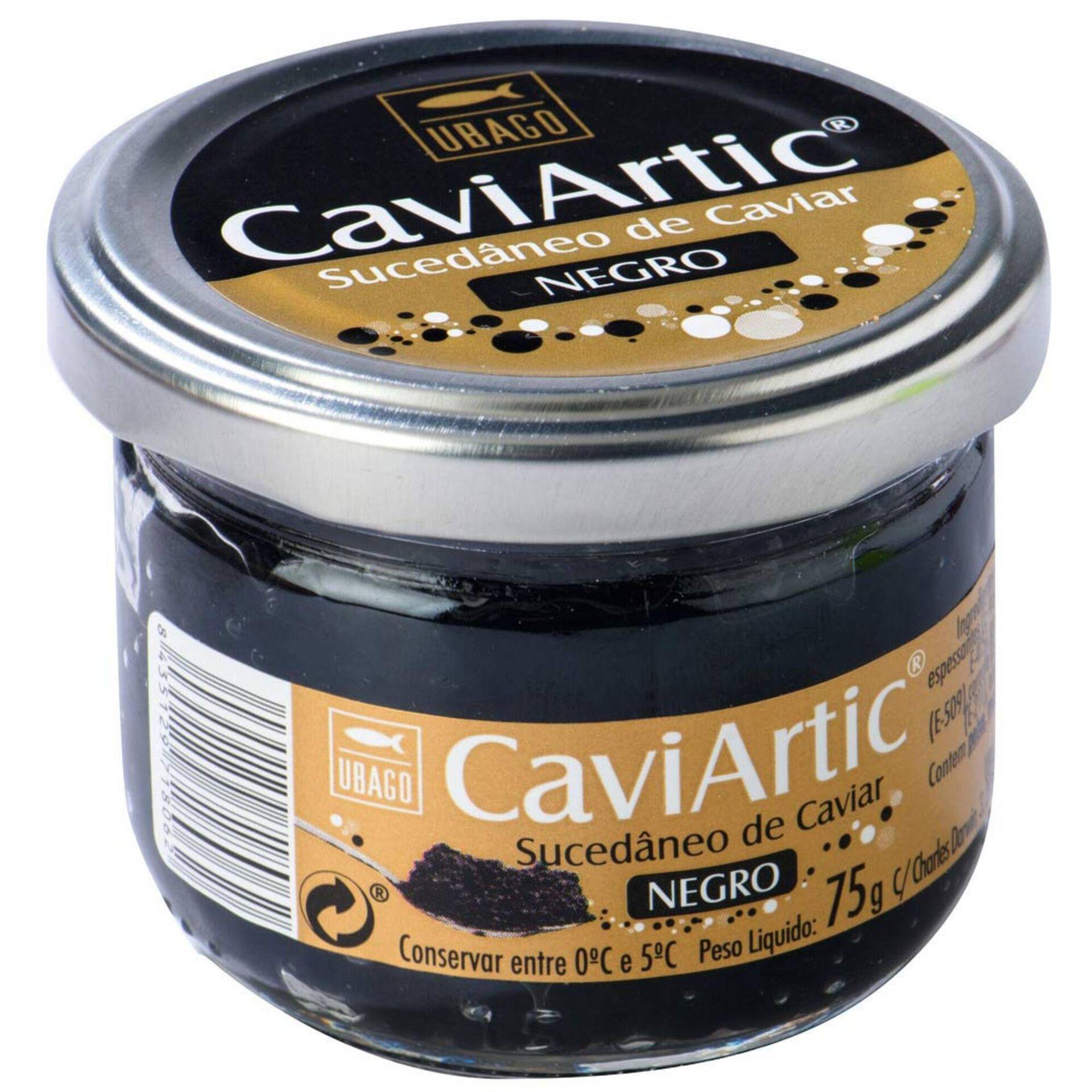 Sucedâneo Caviar Preto Caviartic
