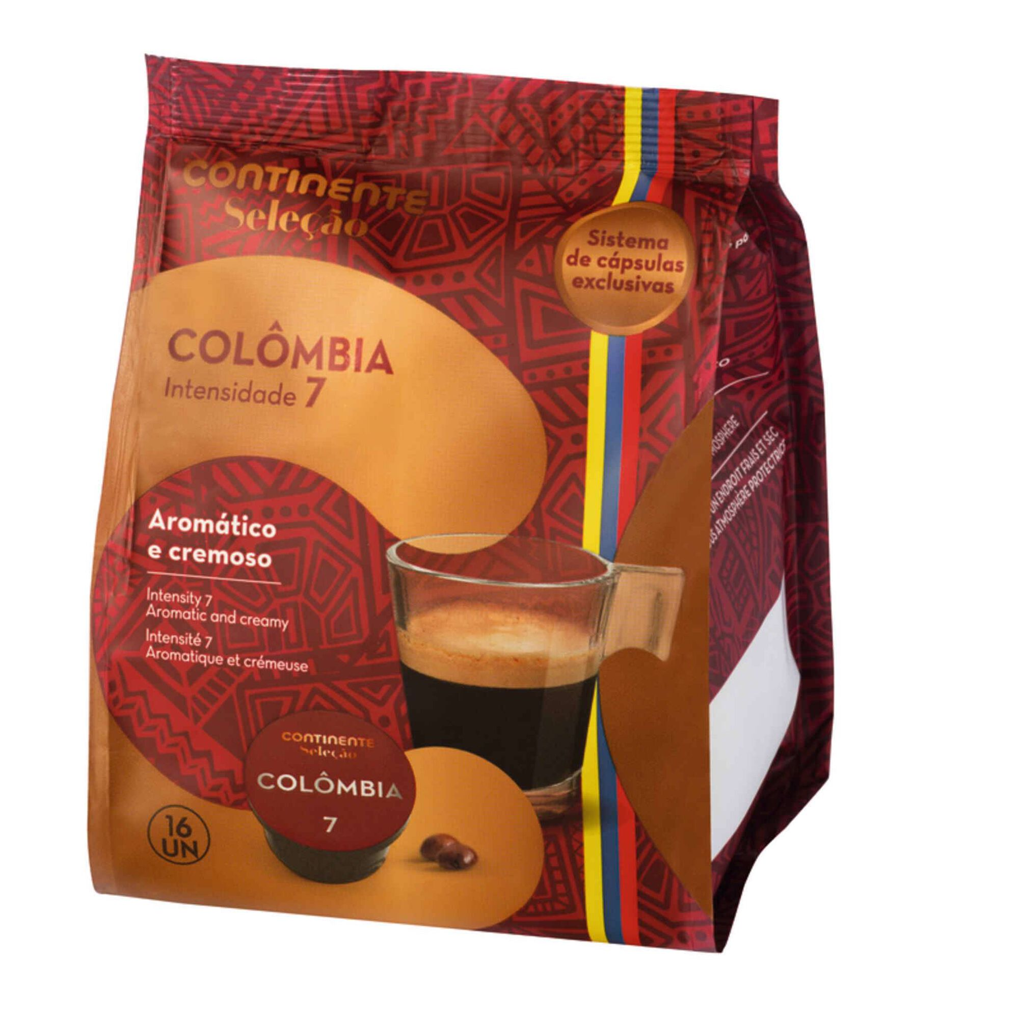 Cápsulas de Café Colômbia Int 7