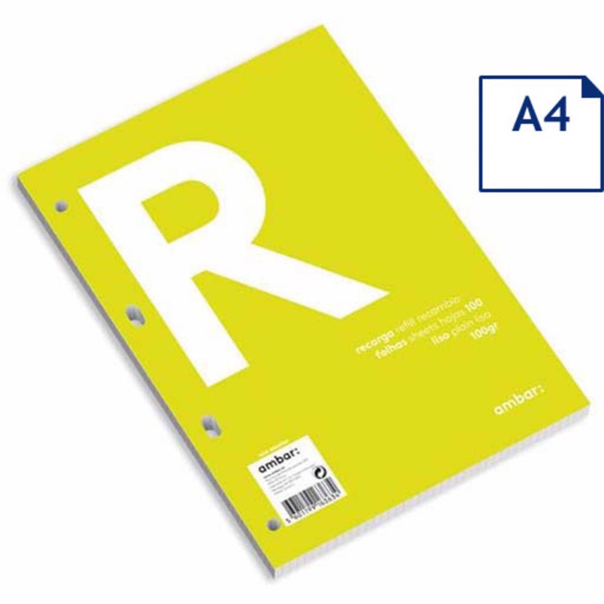 Recarga Papel A4 Liso