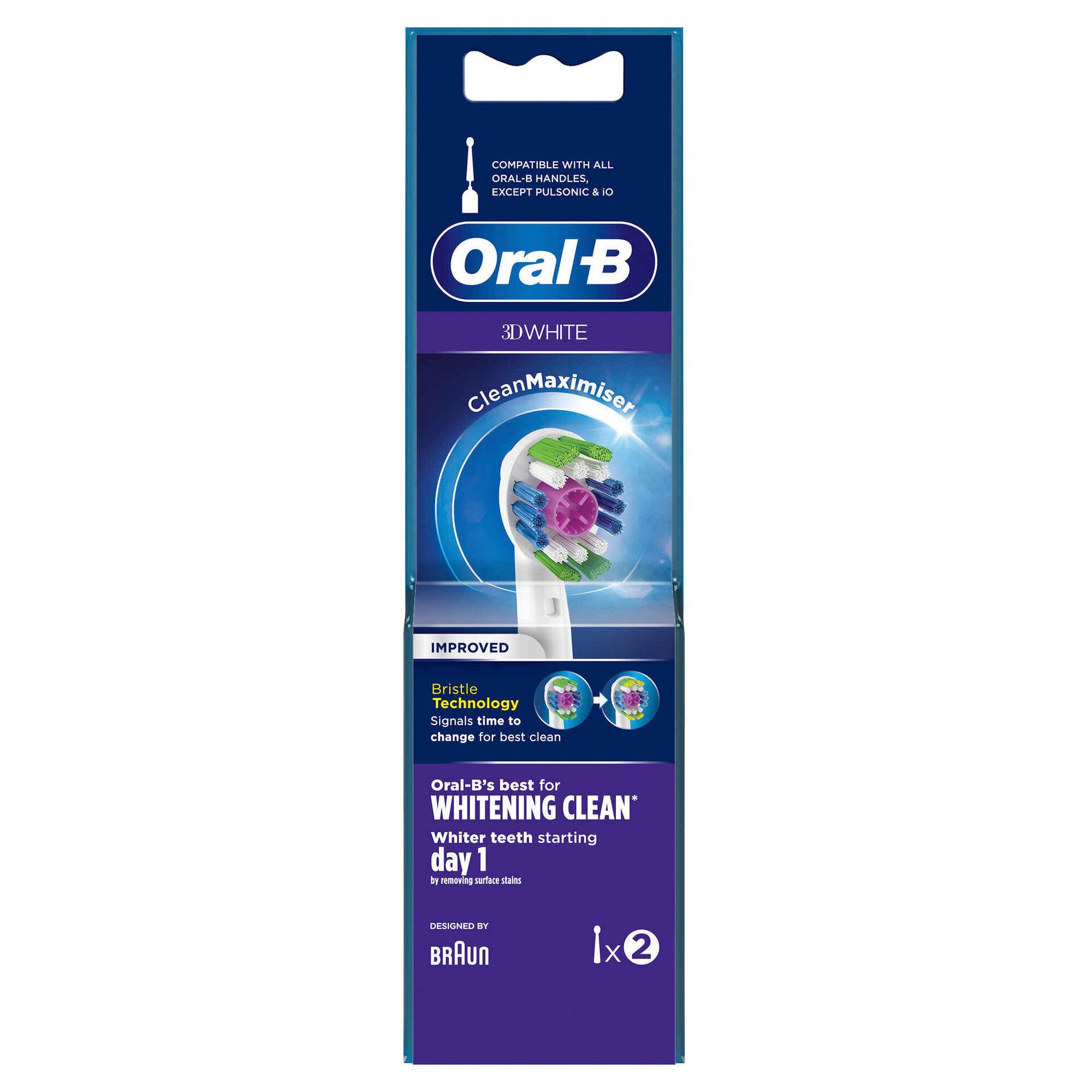 Recarga Escova de Dentes Elétrica 3D White