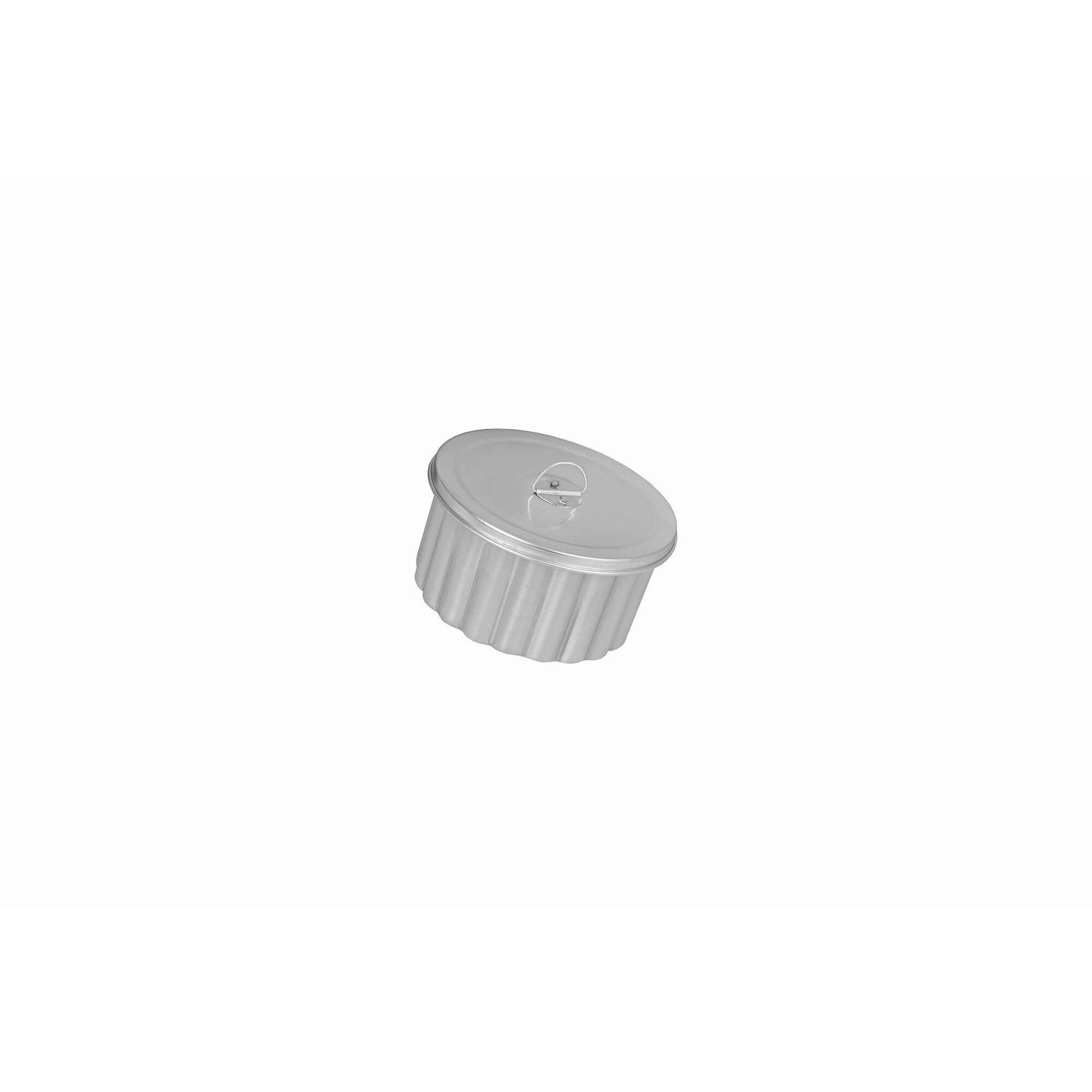 Forma Pudim Canelada Alumínio 18cm Basic