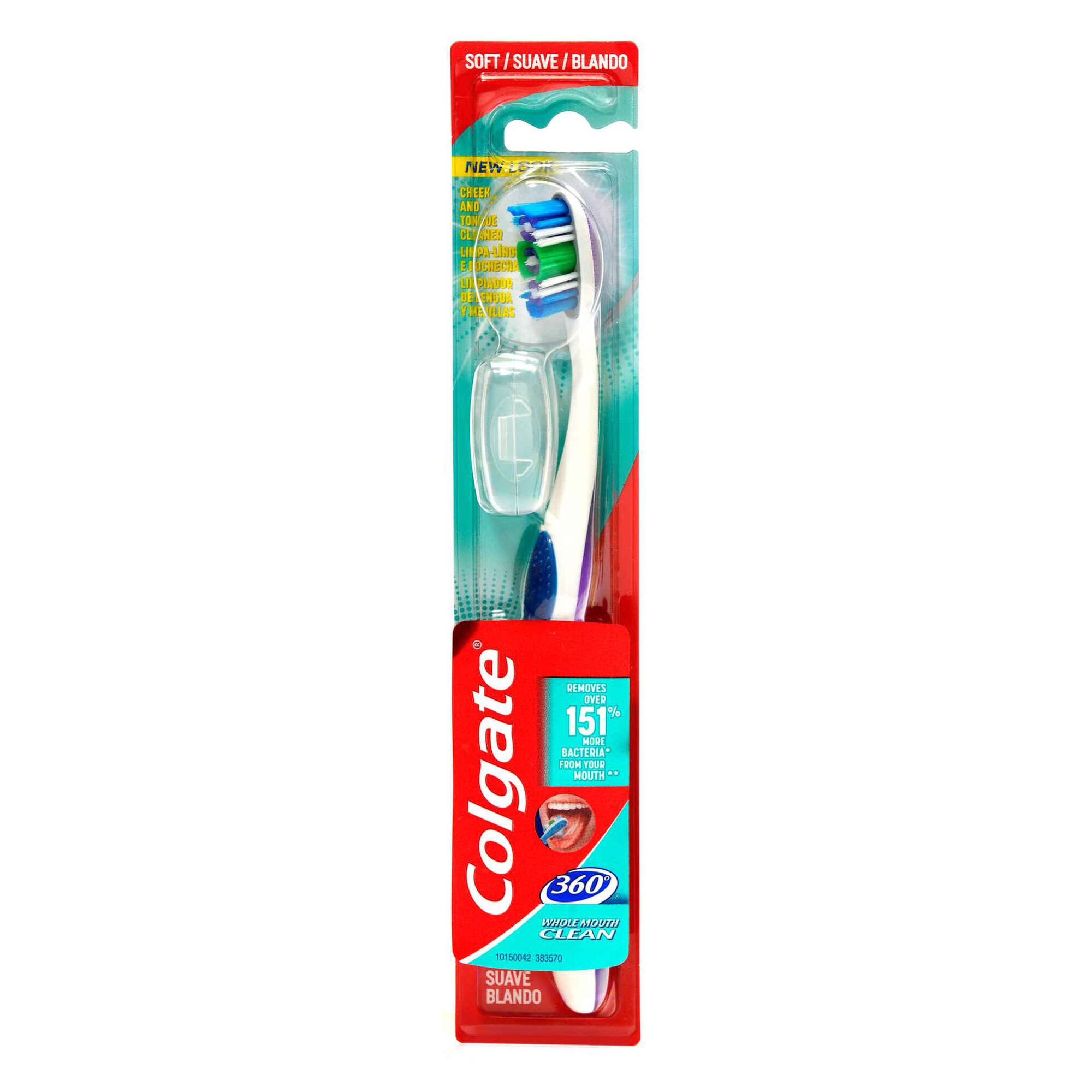 Escova de Dentes 360 Suave