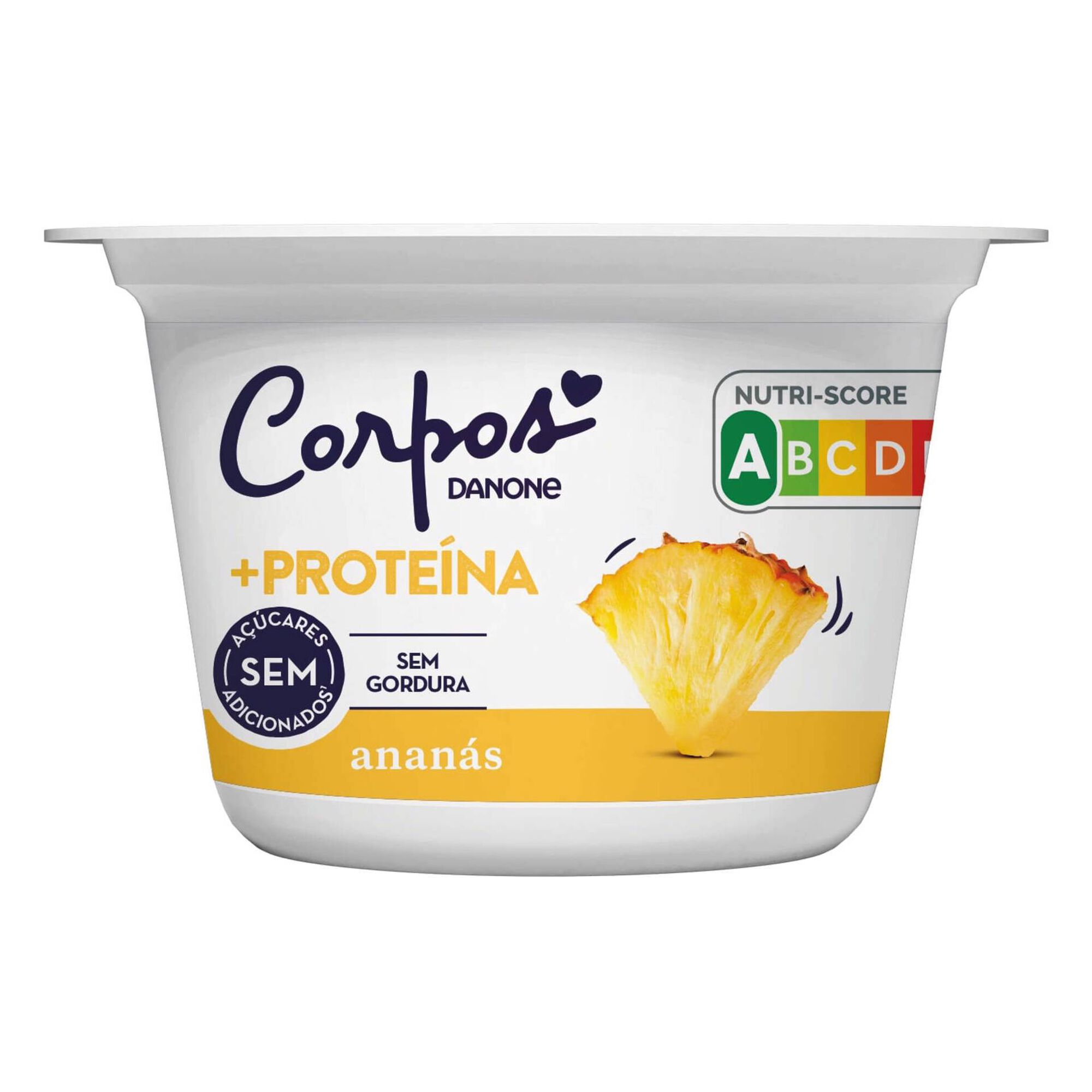 Iogurte +Proteína Anánas Corpos Danone