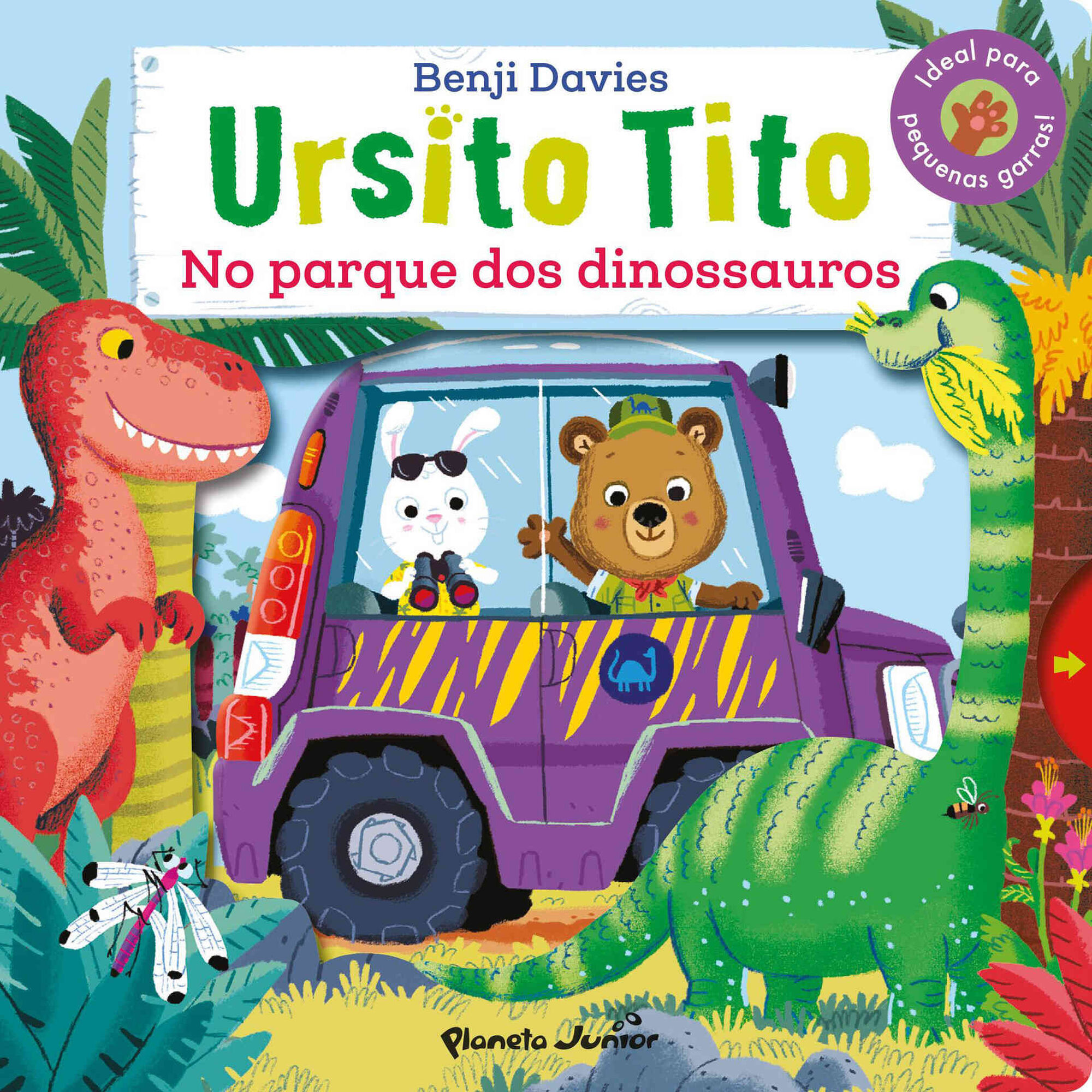 Ursito Tito - No Parque dos Dinossauros