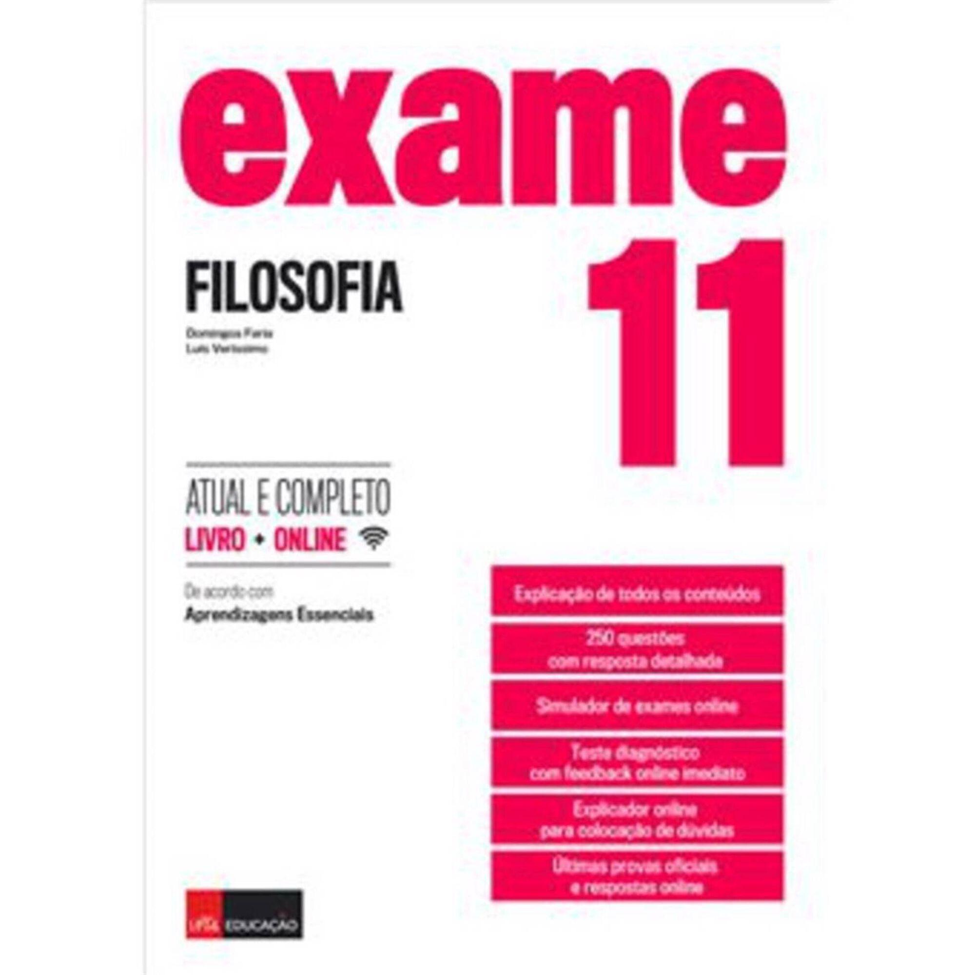 Exame - Filosofia - 11º Ano