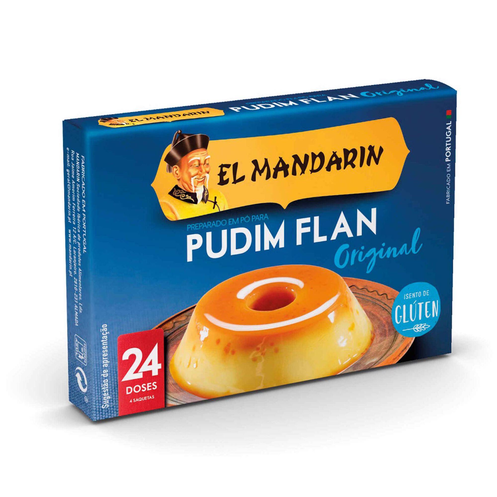 Preparado para Pudim Flan sem Glúten