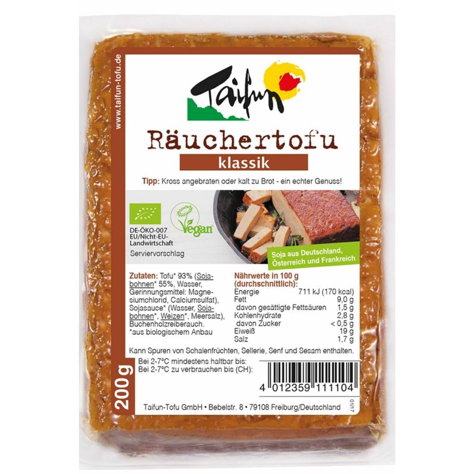Tofu Fumado Biológico