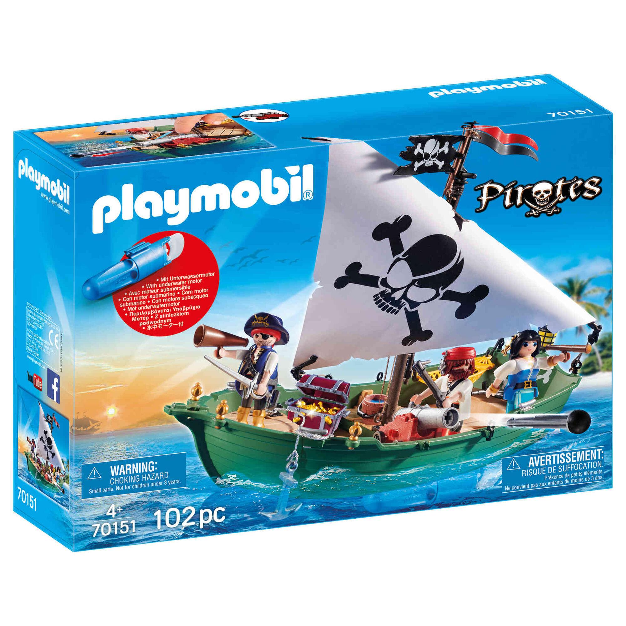 Navio Pirata com Motor Subaquático - 70151