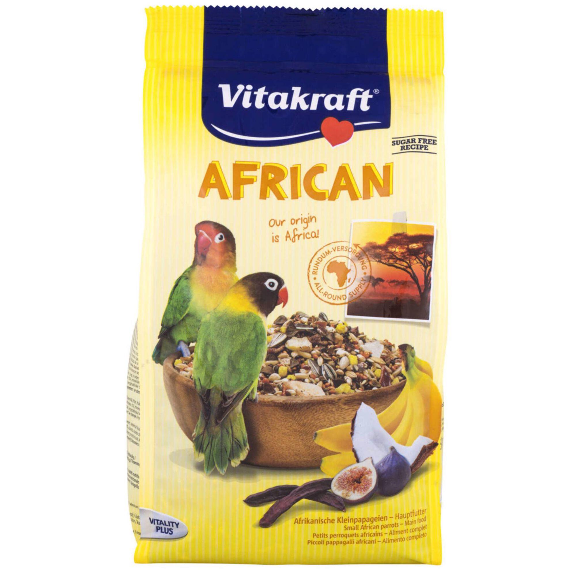 Comida para Agapornis African