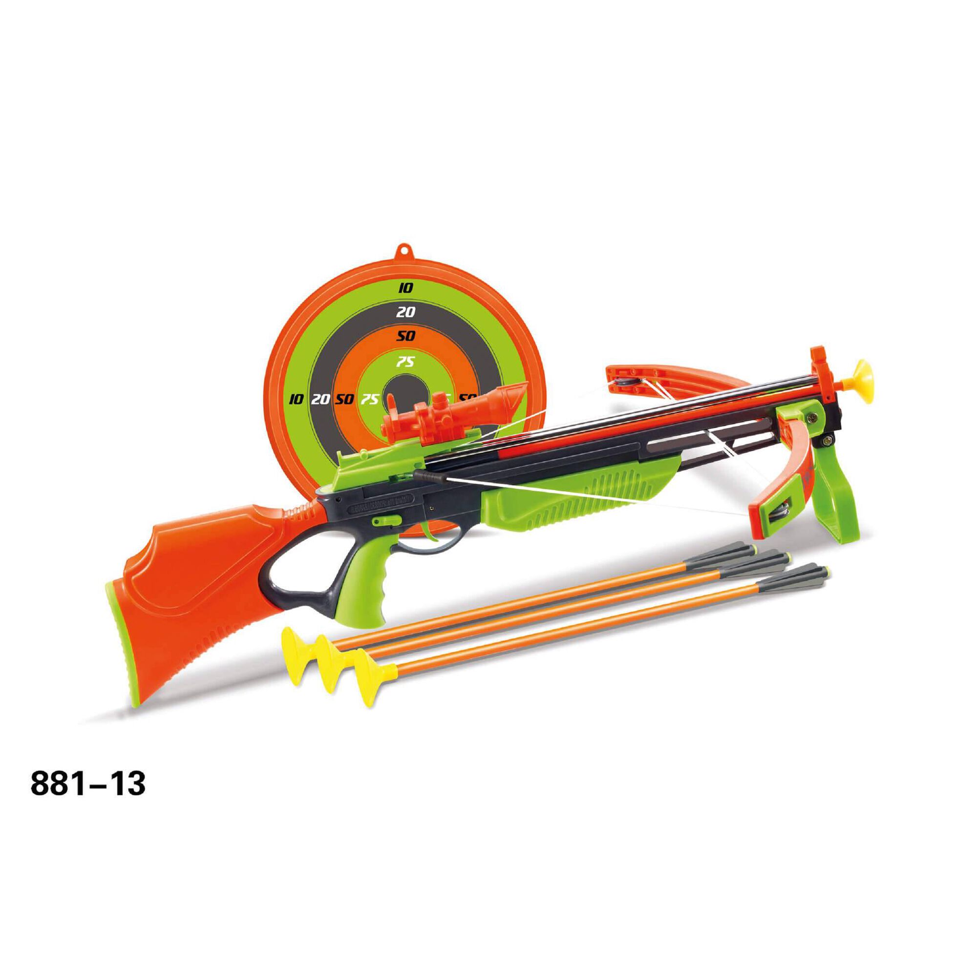 Conjunto Pistola com Flechas e Alvo