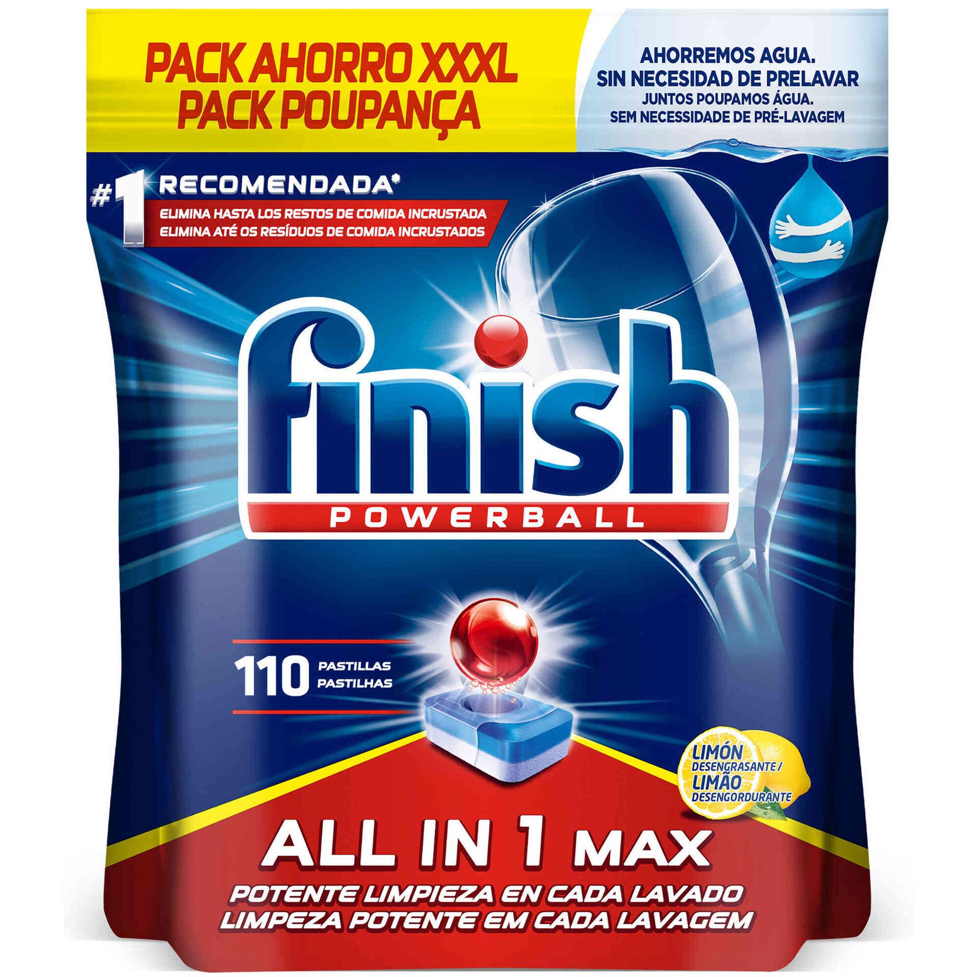 Detergente Máquina Loiça Pastilhas All in 1 Limão