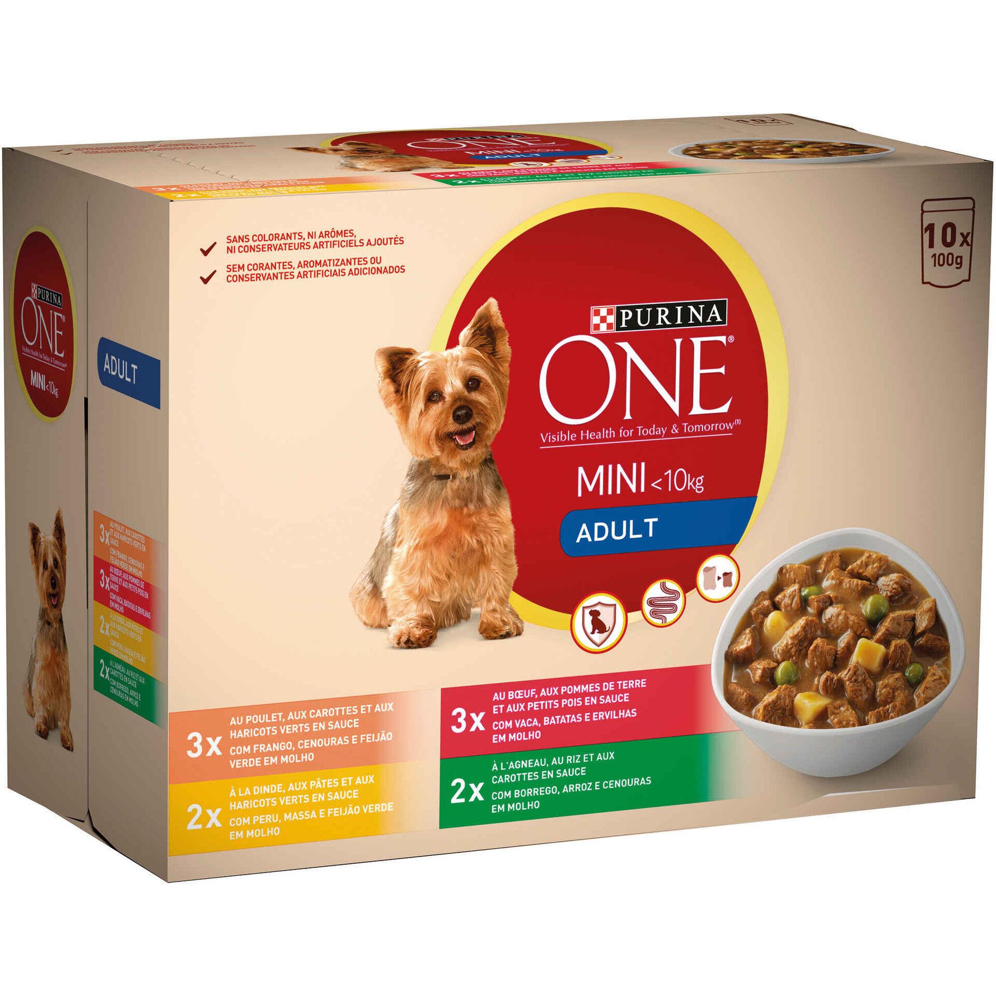 Comida Húmida para Cão Adulto Mini Saquetas