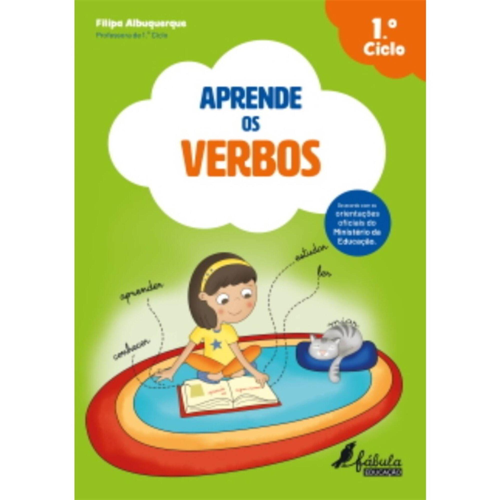 Aprende os Verbos - 1º ao 4º Ano