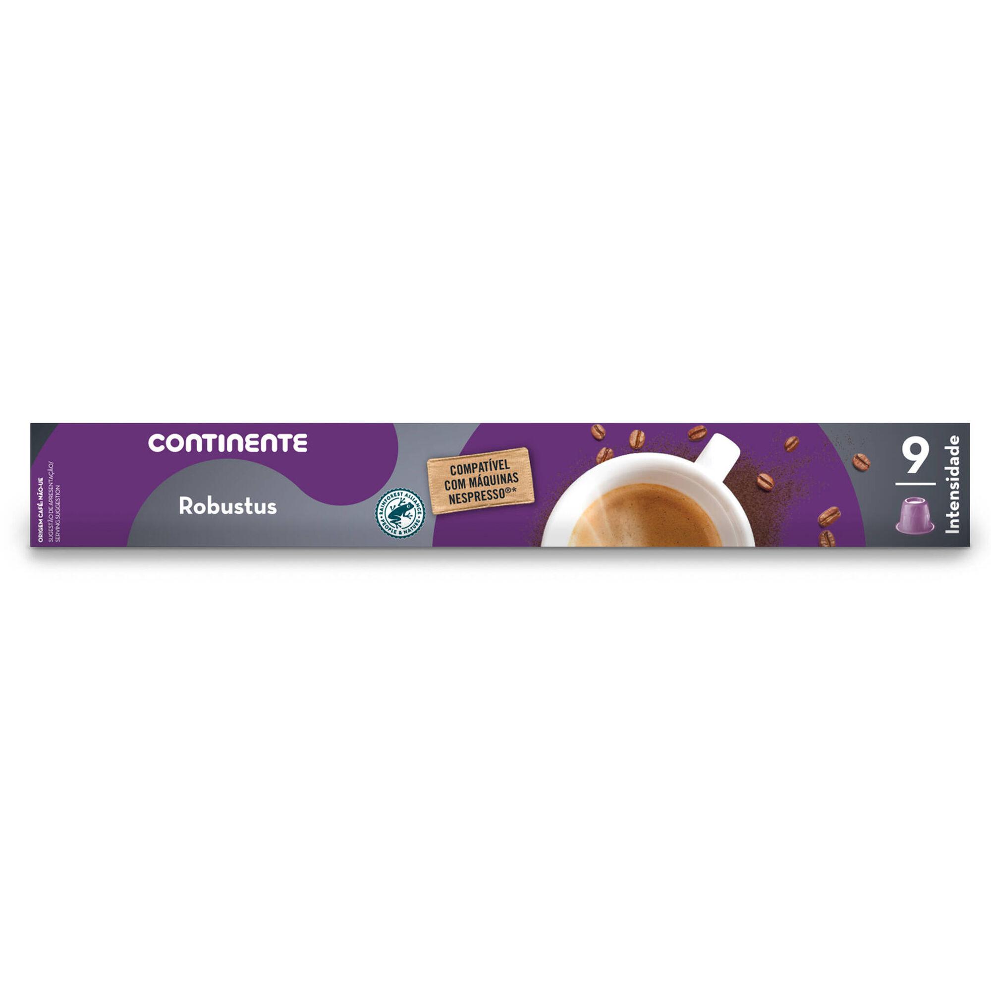 Cápsulas de Café Robustus Compatível com Nespresso Int 9