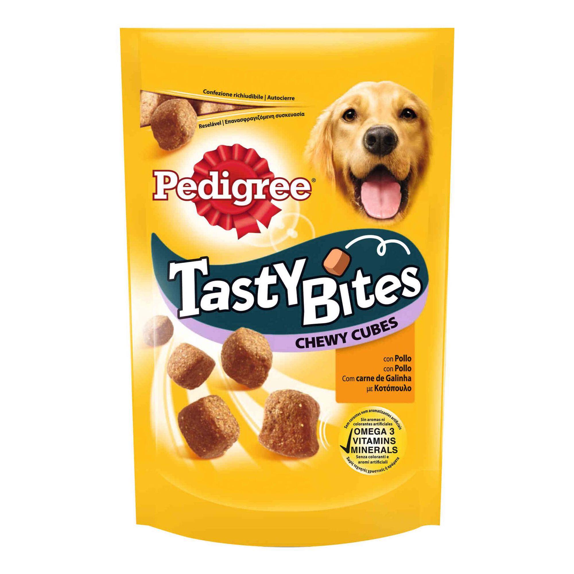 Snack para Cão Tasty Bites Chewy Frango
