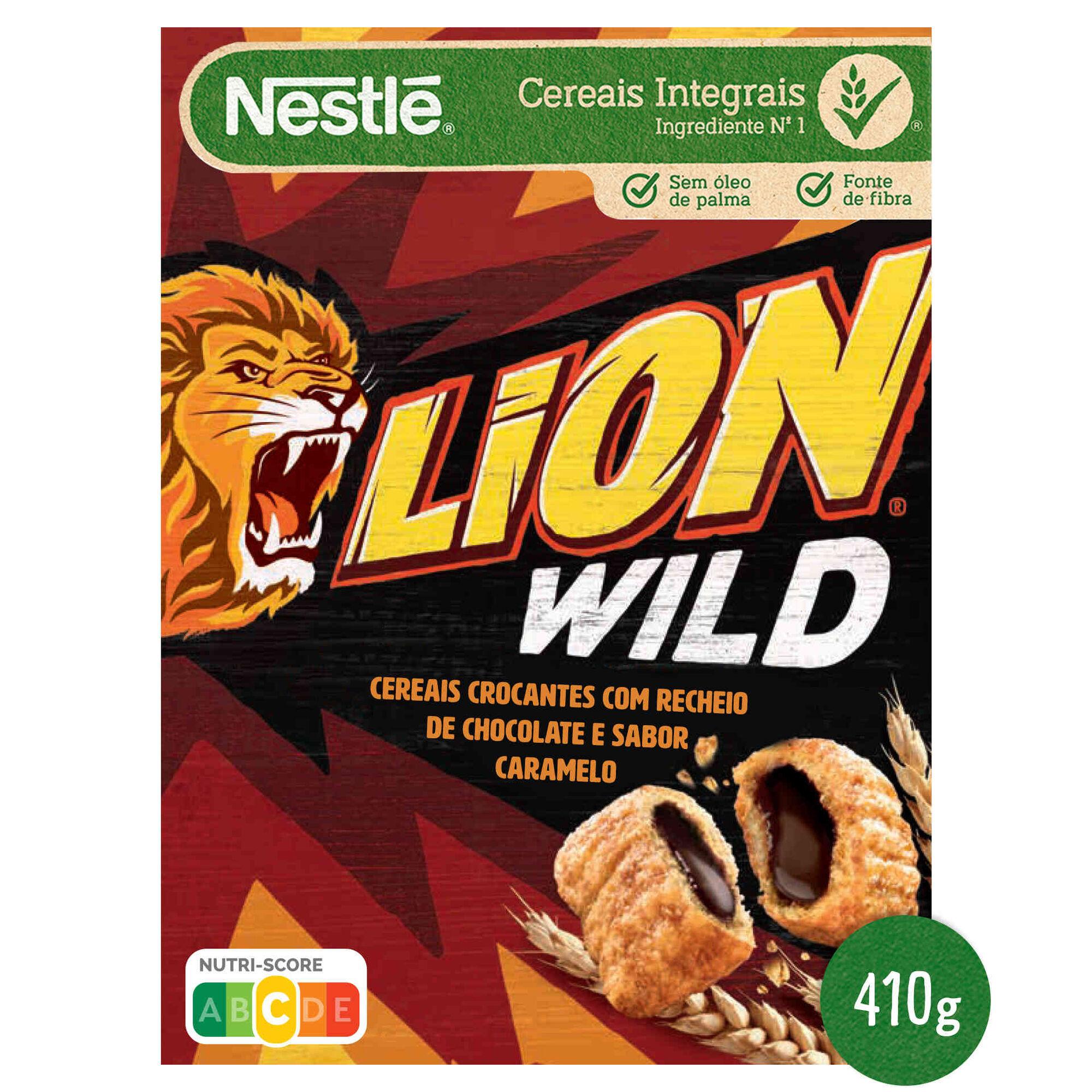 Cereais Lion Wild Chocolate Caramelo
