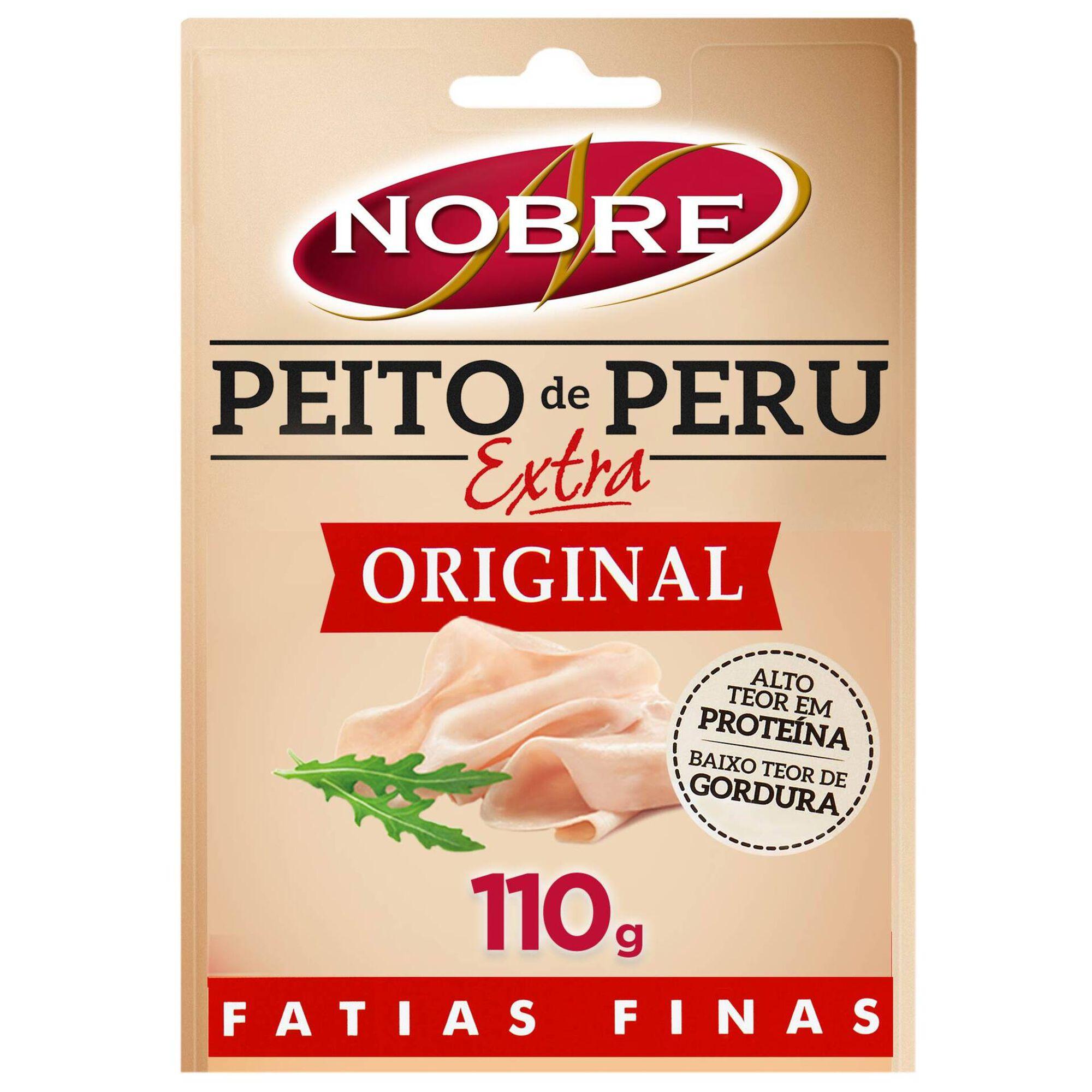 Fiambre de Peito de Peru Extra Fatias Finas