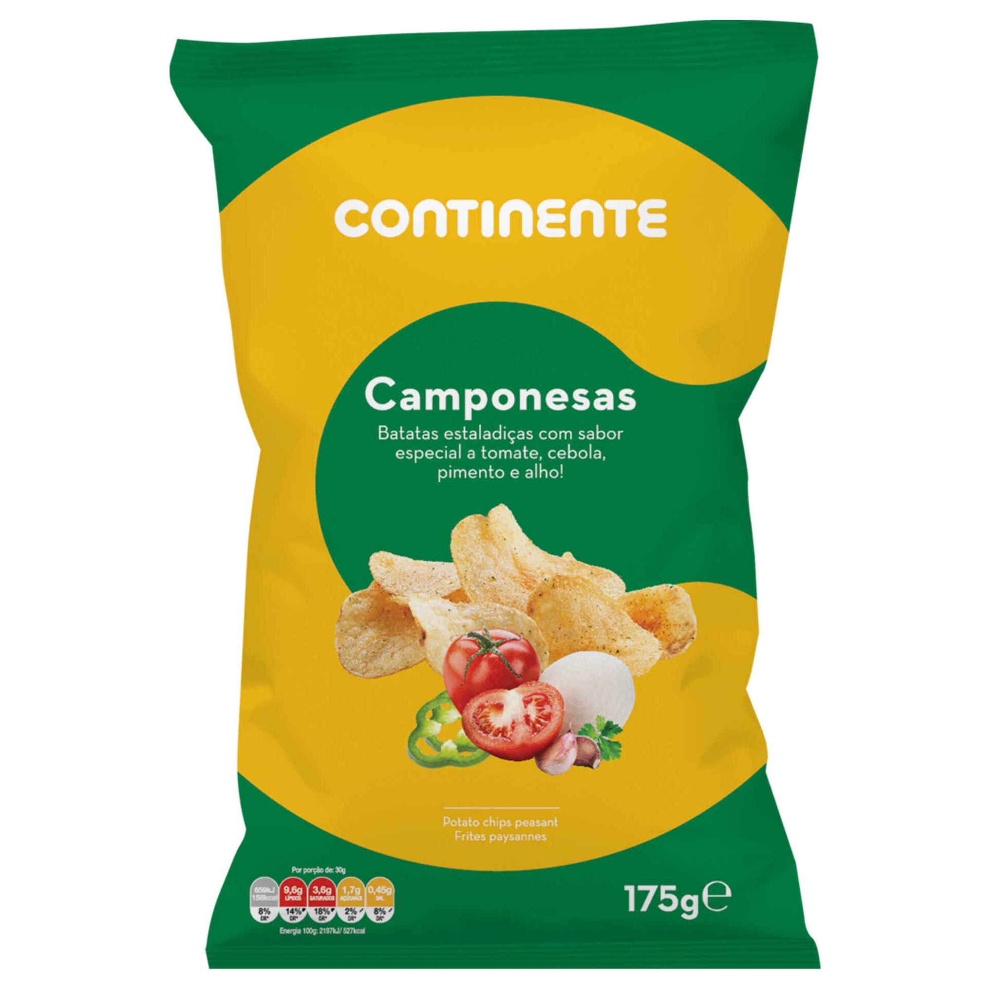 Batata Frita Lisa Sabor Camponesa