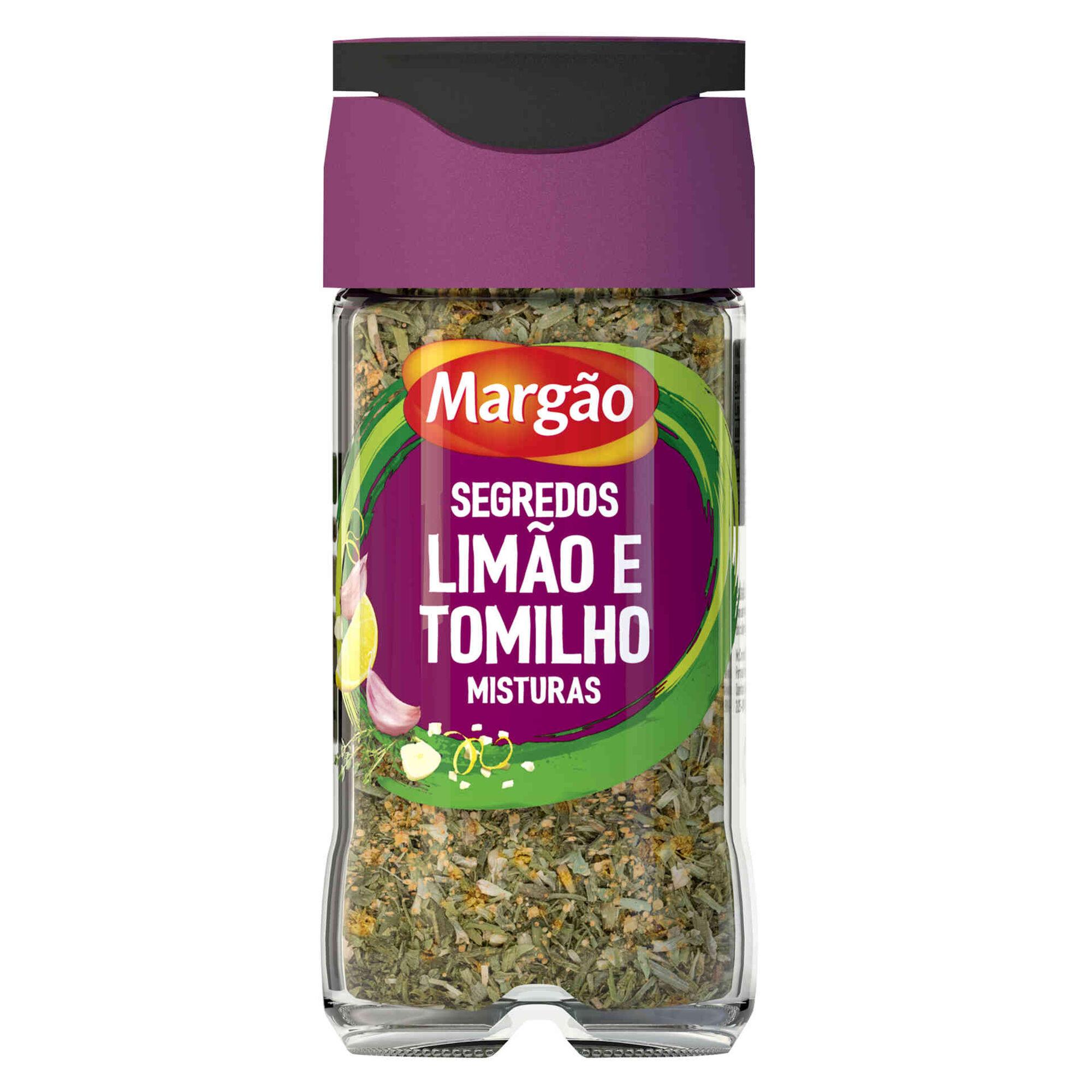 Mistura de Limão e Tomilho em Frasco