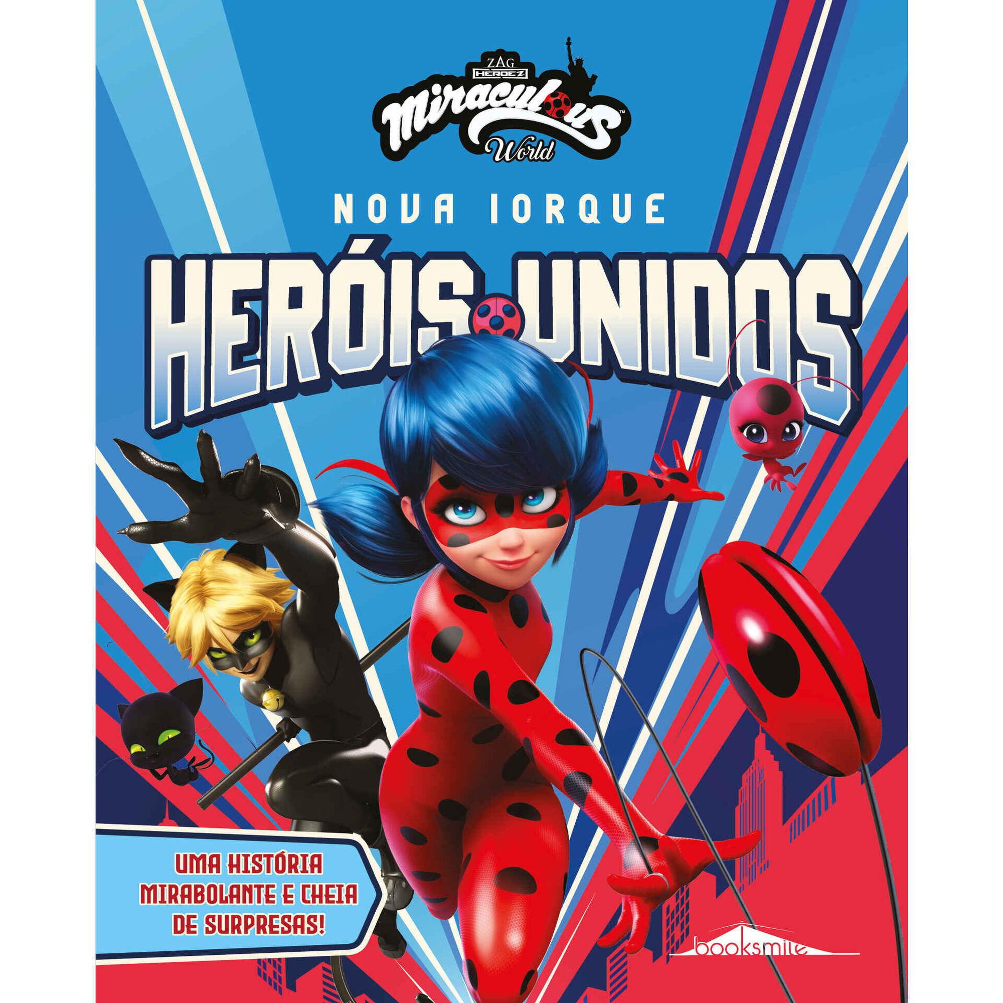 As Aventuras de Ladybug - Nova Iorque: Heróis Unidos
