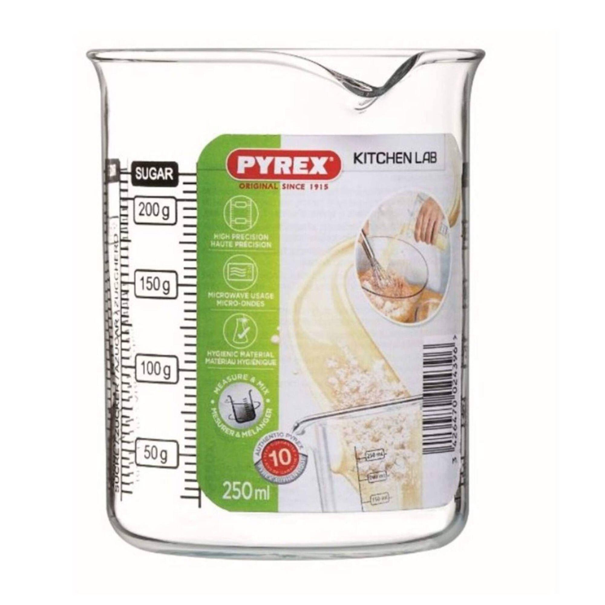 Copo Medidor Vidro 250ml Kitchen Lab