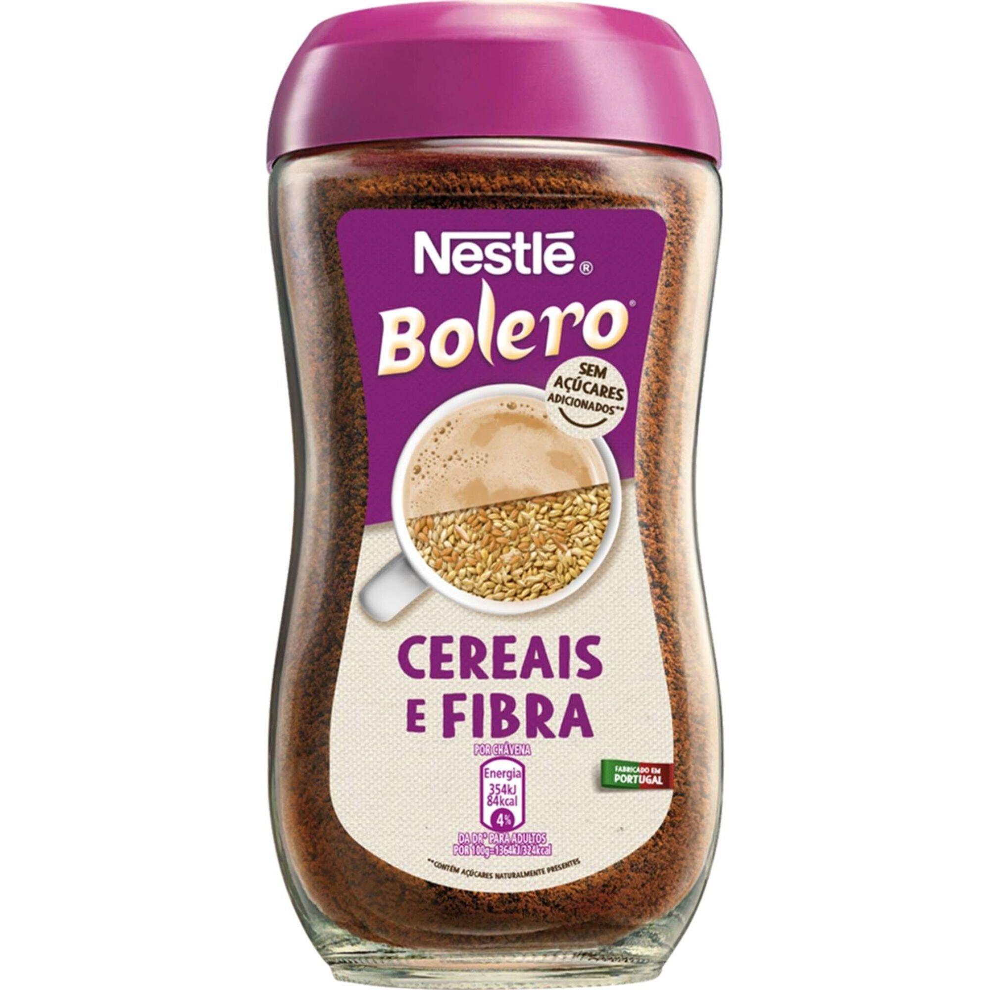 Bebida Cereais e Fibra